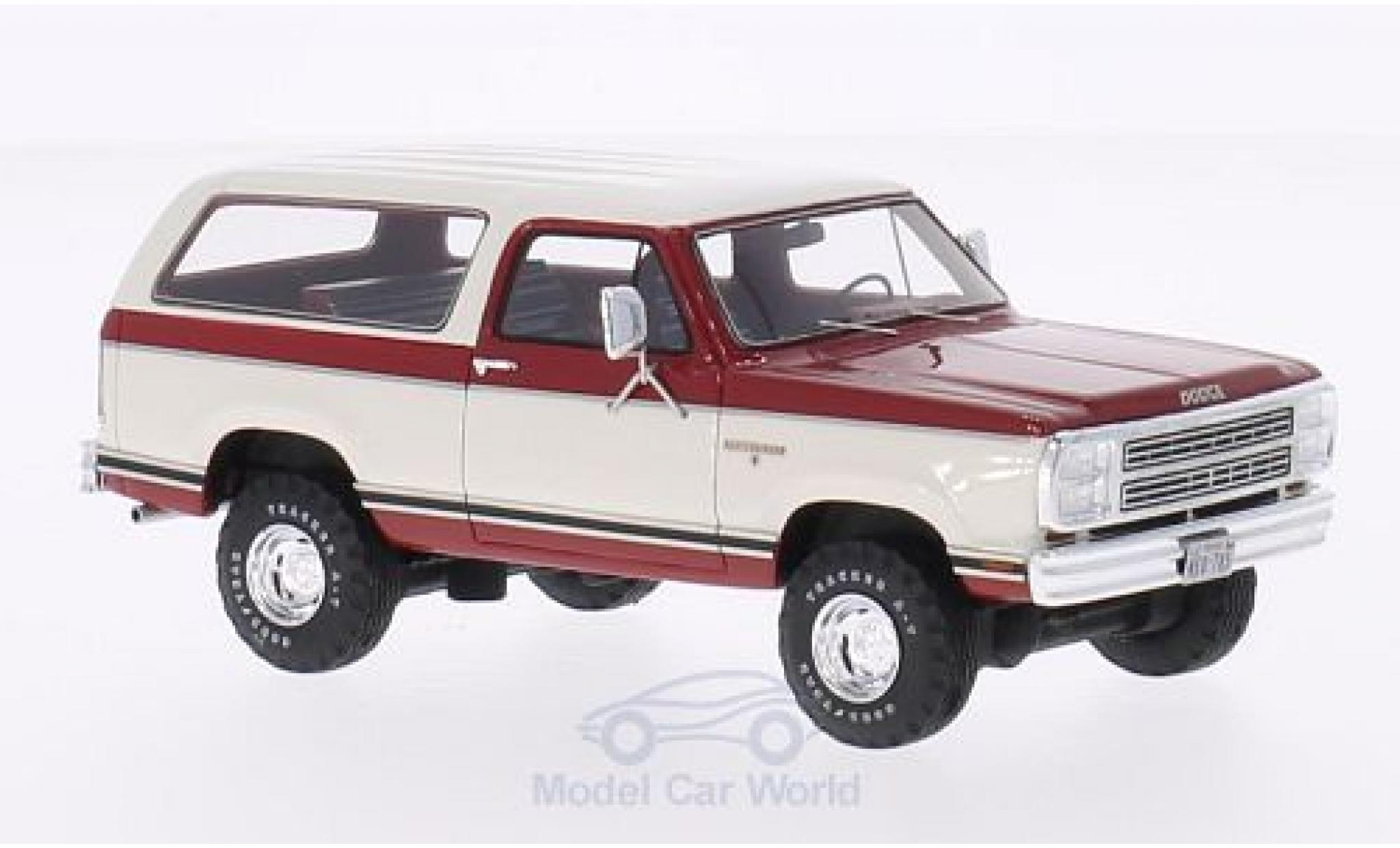 Dodge RAM 1/43 Neo Ramcharger rouge/blanche 1979