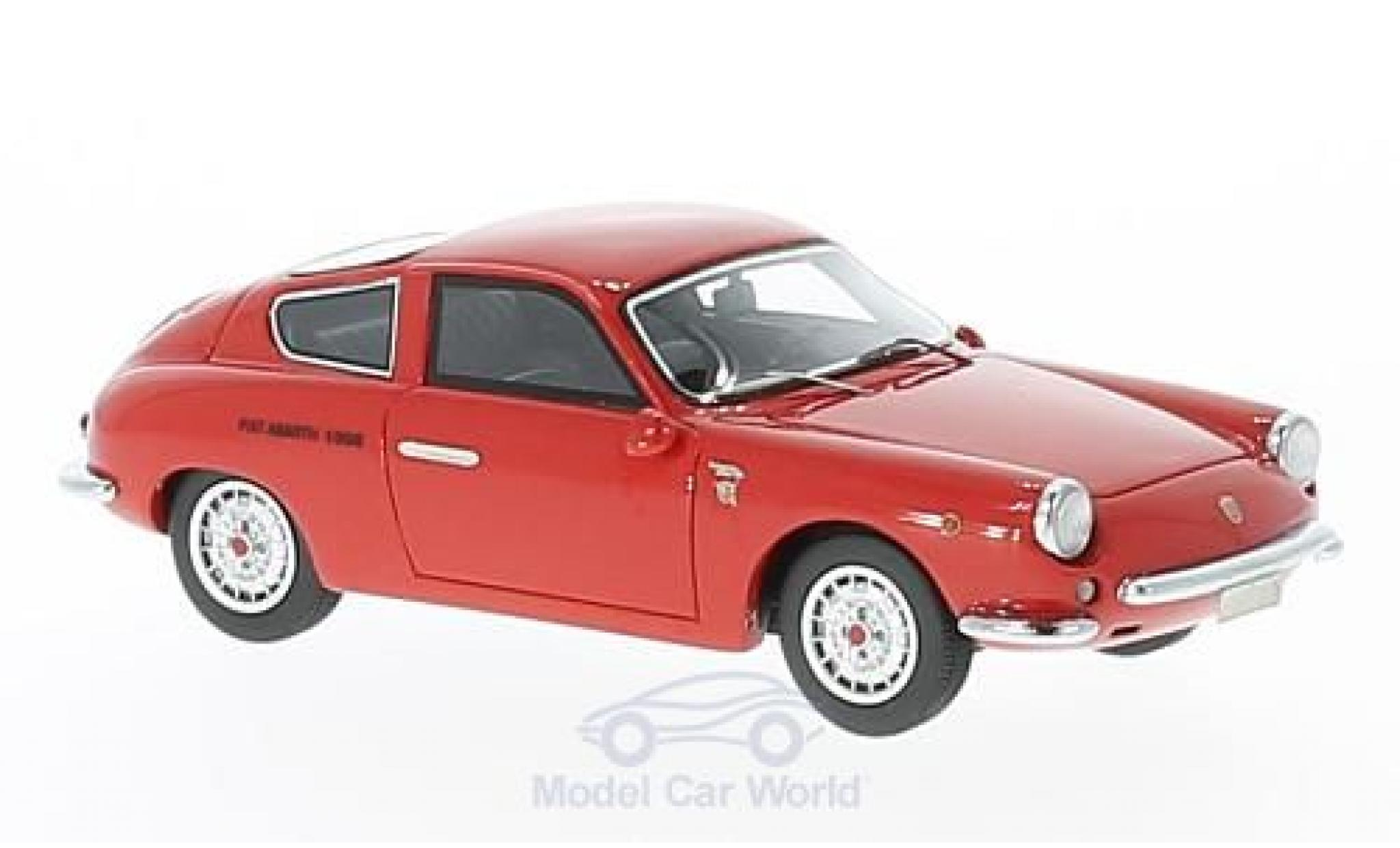 Fiat Abarth 1000 1/43 Neo GT Monomille rouge 1963