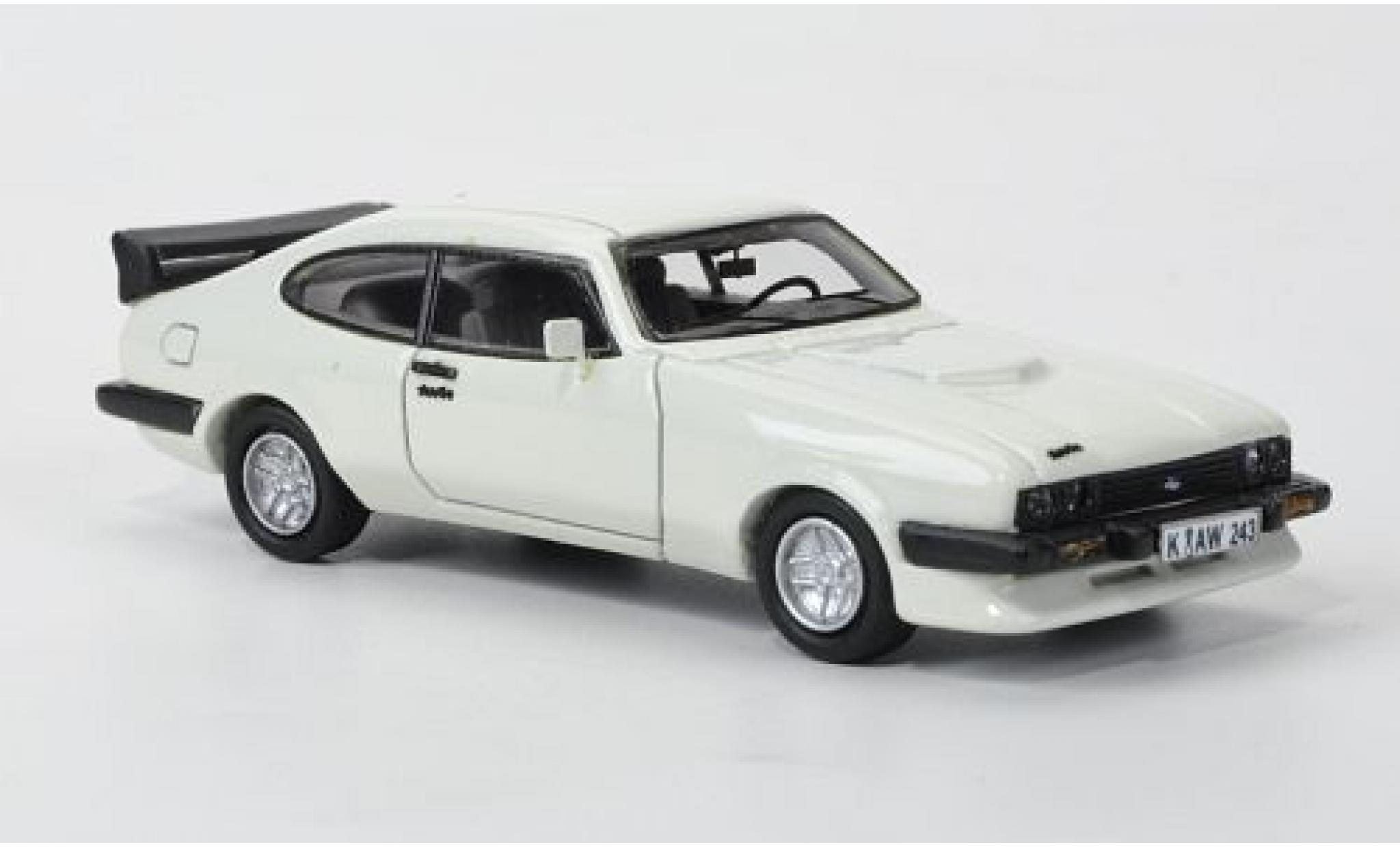 Ford Capri 1/87 Neo MkIII Turbo blanche 1982