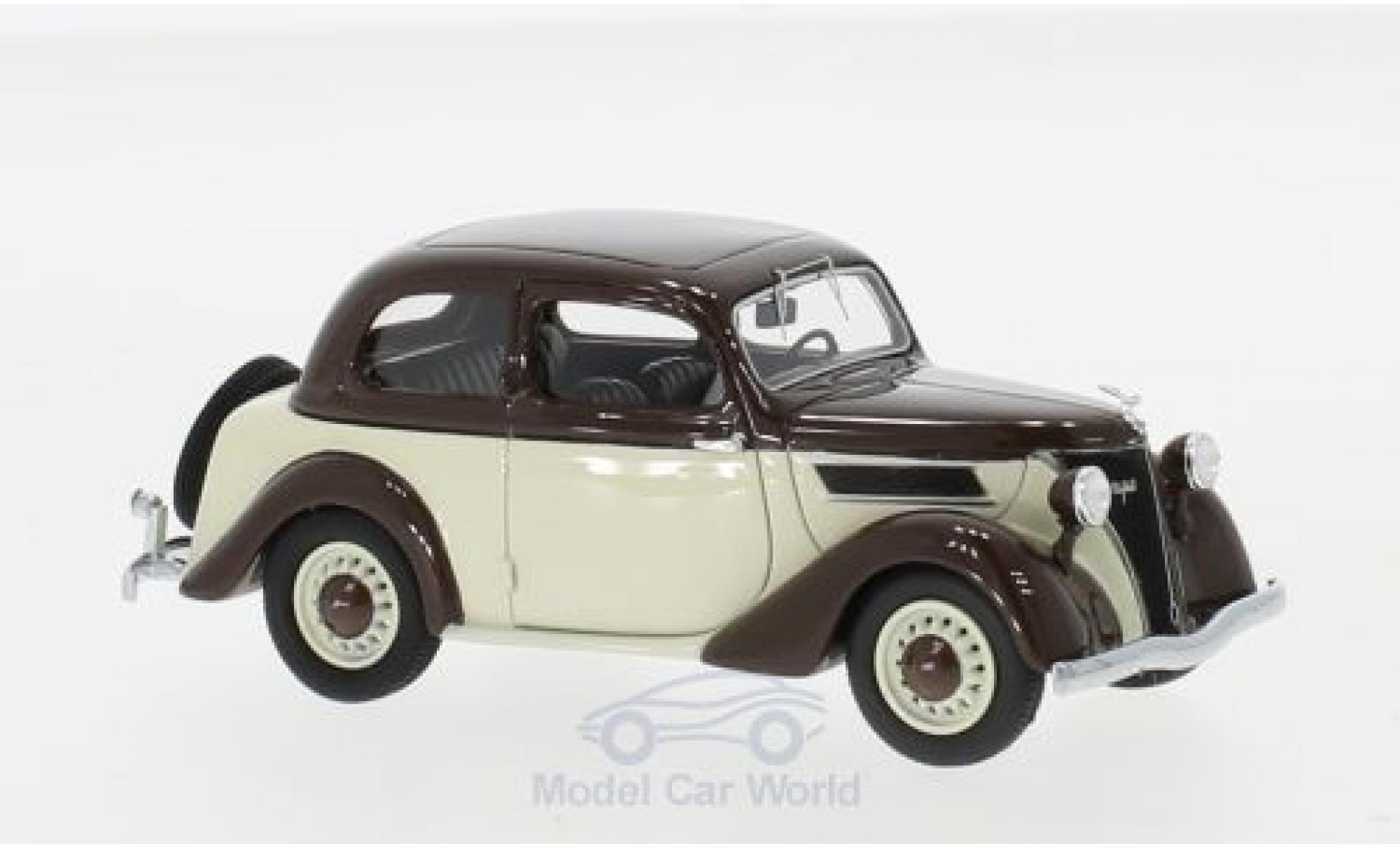 Ford Eifel 1/43 Neo marron/beige 1938