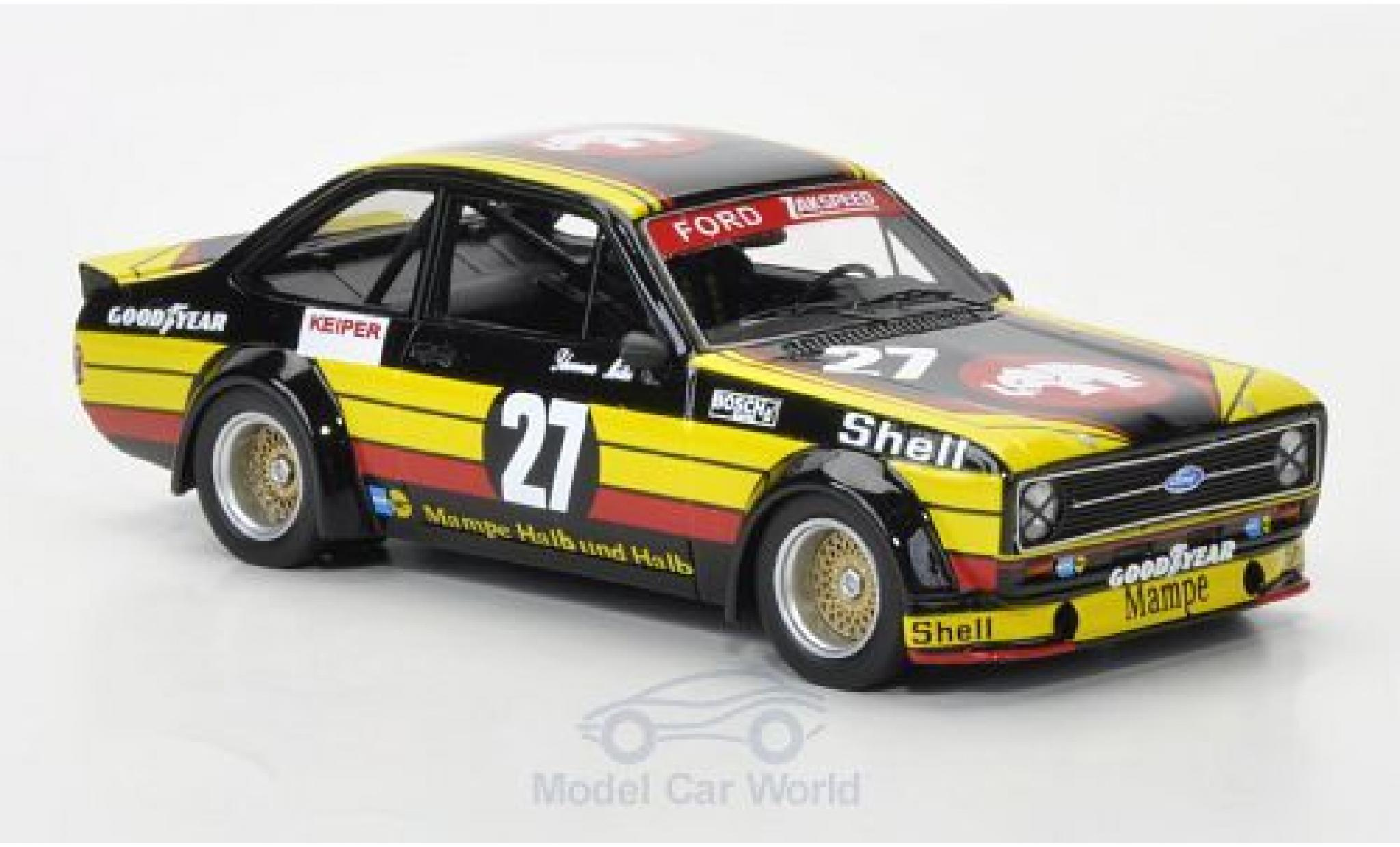 Ford Escort MKI 1/43 Neo MkII RS Gr.2 No.27 Mampe Nürburgring 1977 W.Schommers/S.Müller