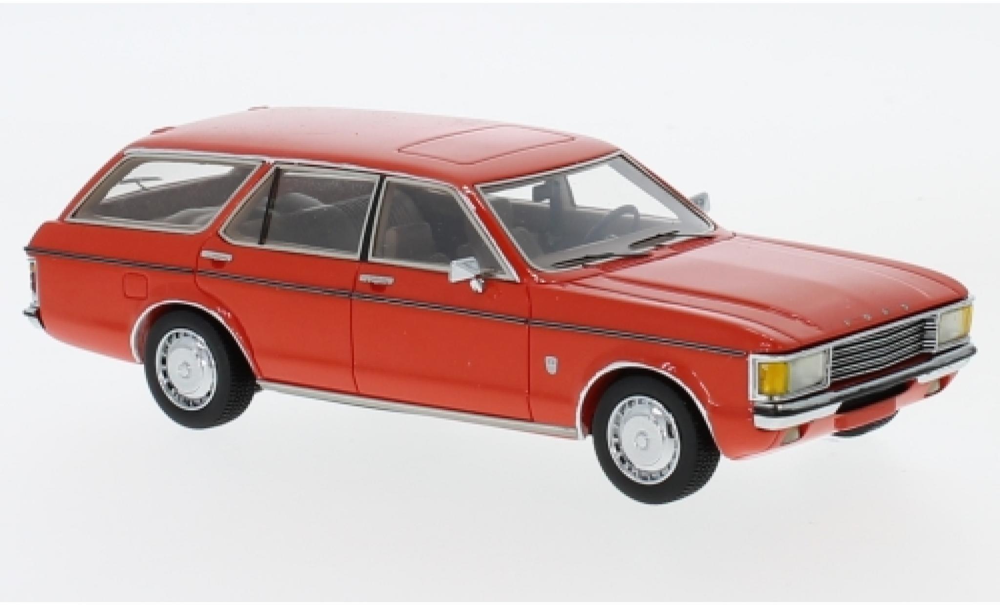 Ford Granada 1/43 Neo MK I Turnier rouge 1972