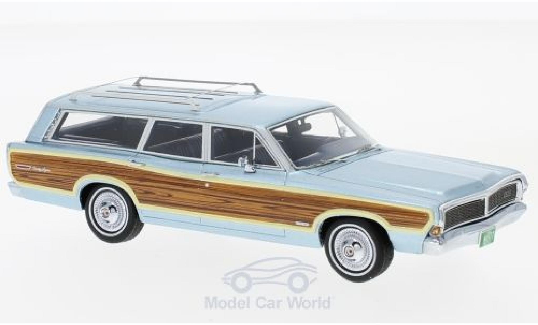 Ford LTD 1/43 Neo Country Squire metallise bleue/Dekor 1968