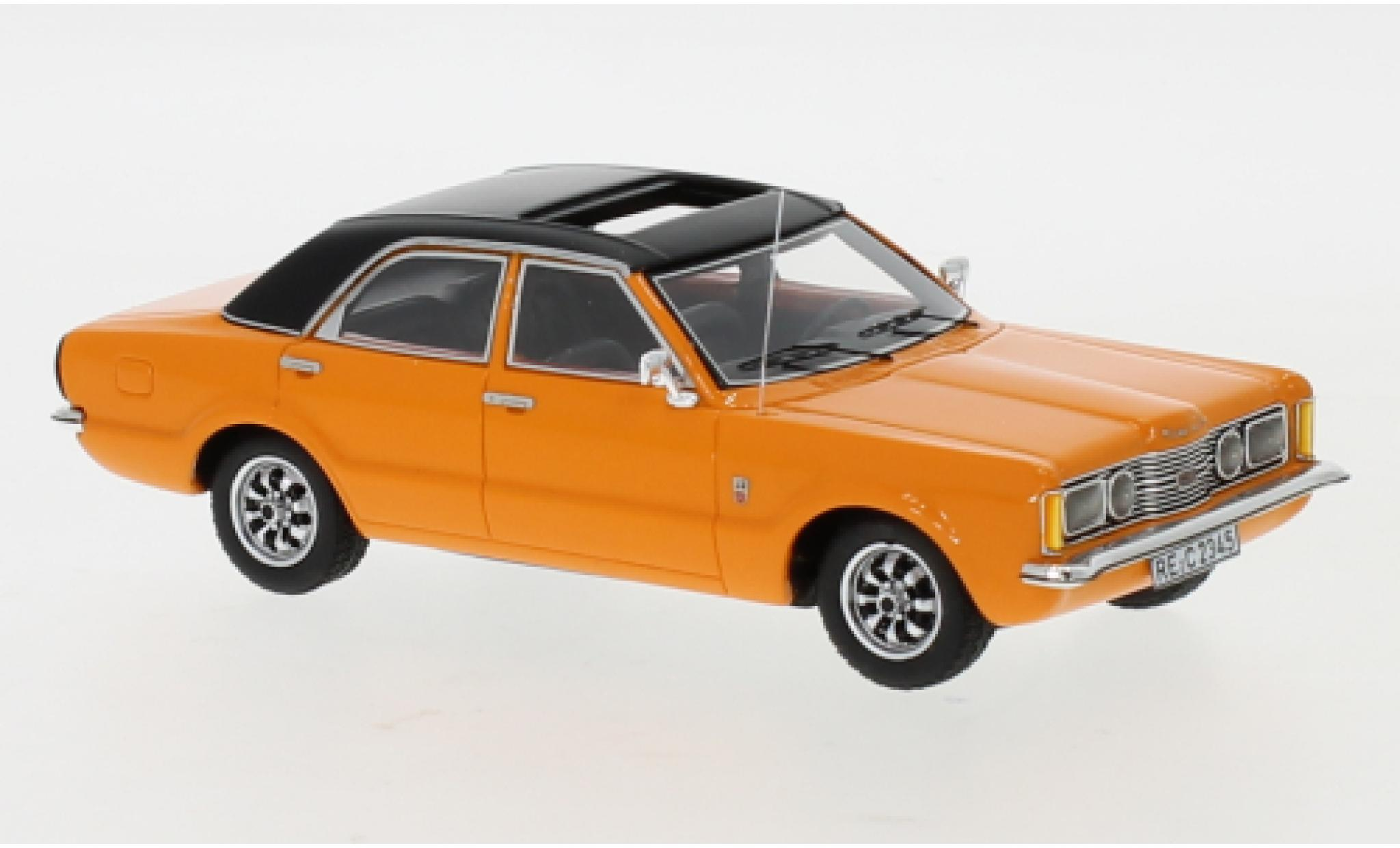 Ford Taunus 1/43 Neo GXL orange/black 1973