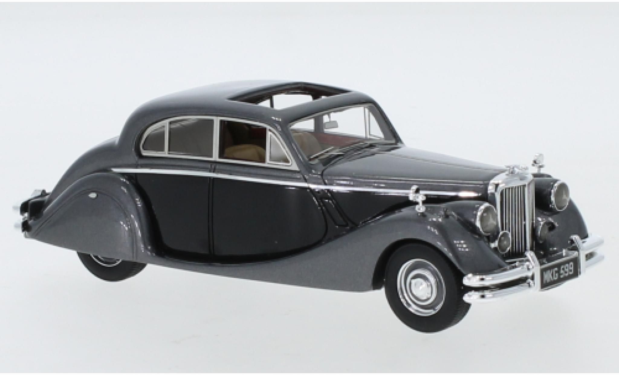 Jaguar MK 1/43 Neo Mk V metallise grise/noire RHD 1950
