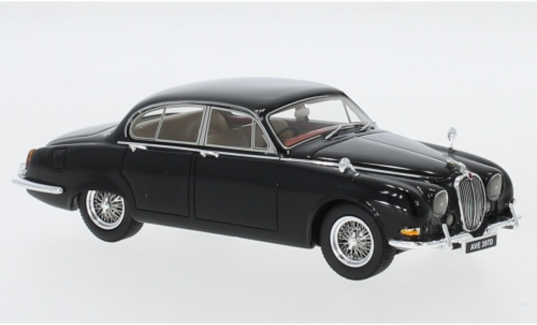 Jaguar S-Type 1/43 Neo 3.4 noire RHD 1965