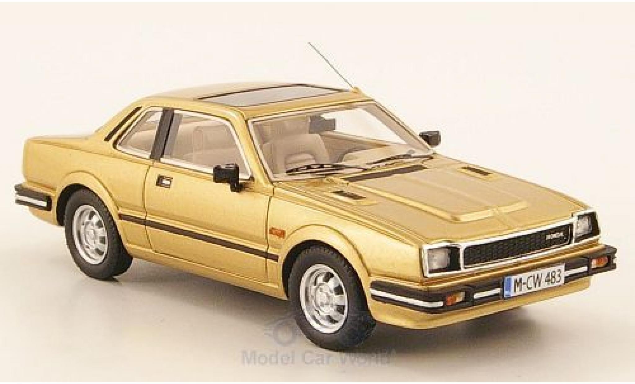 Honda Prelude 1/43 Neo Limited 300 MkI gold 1983