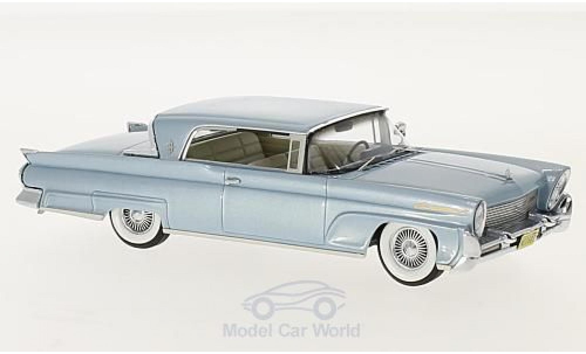 Lincoln Continental 1/43 Neo MKIII Hardtop Coupe metallise bleue 1958