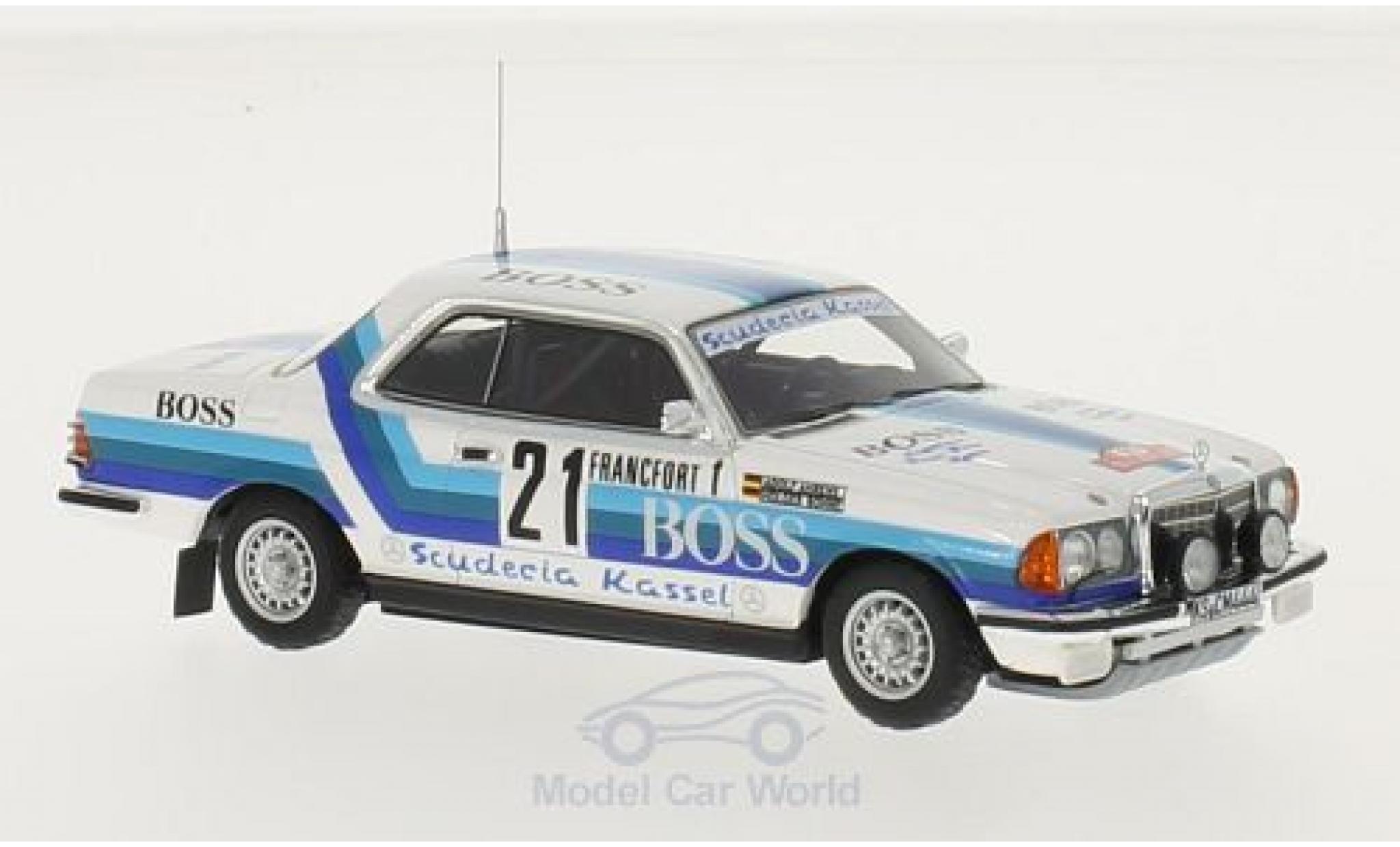 Mercedes 280 1980 1/43 Neo CE No.21 Boss Rallye WM Rallye Monte Carlo 1980 H.Bohne/A.Ahrens