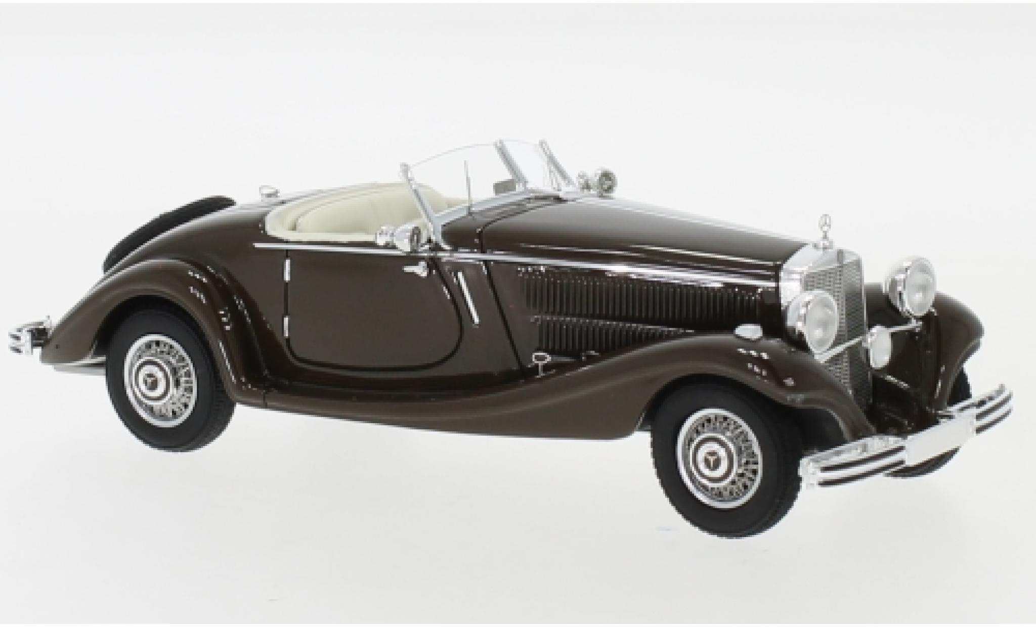 Mercedes 290 1/43 Neo Roadster (W18) marron 1937