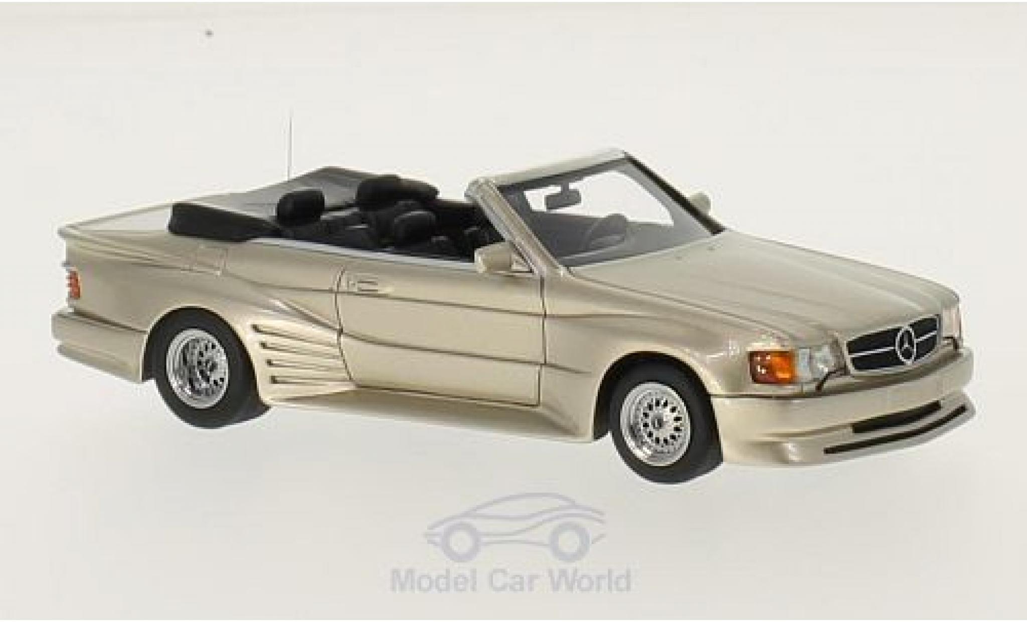 Mercedes 500 SEC 1/43 Neo SEC Koenig Specials metallic-beige