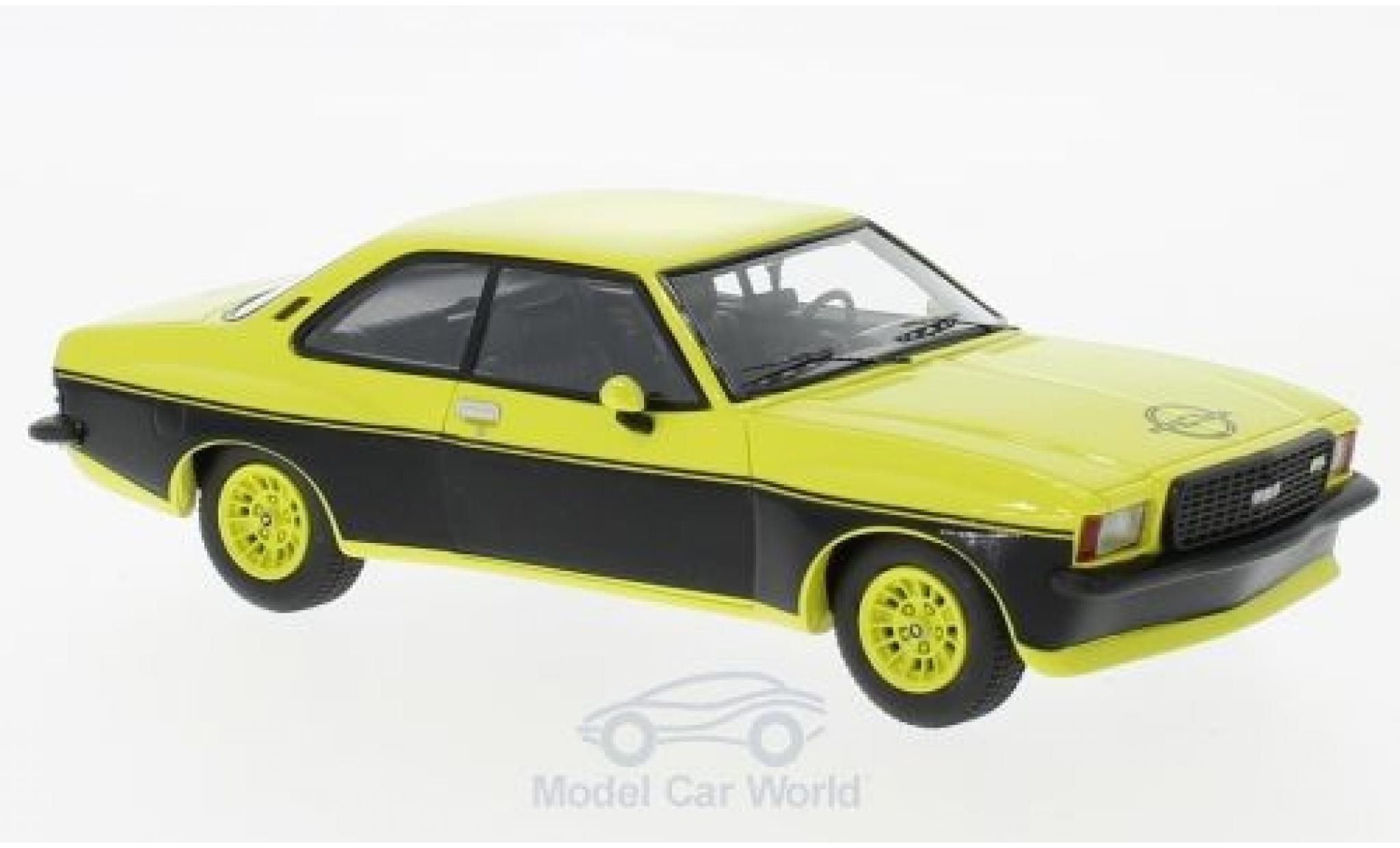 Opel Commodore C 1/43 Neo B GS/E Steinmetz helljaune/noire 1974
