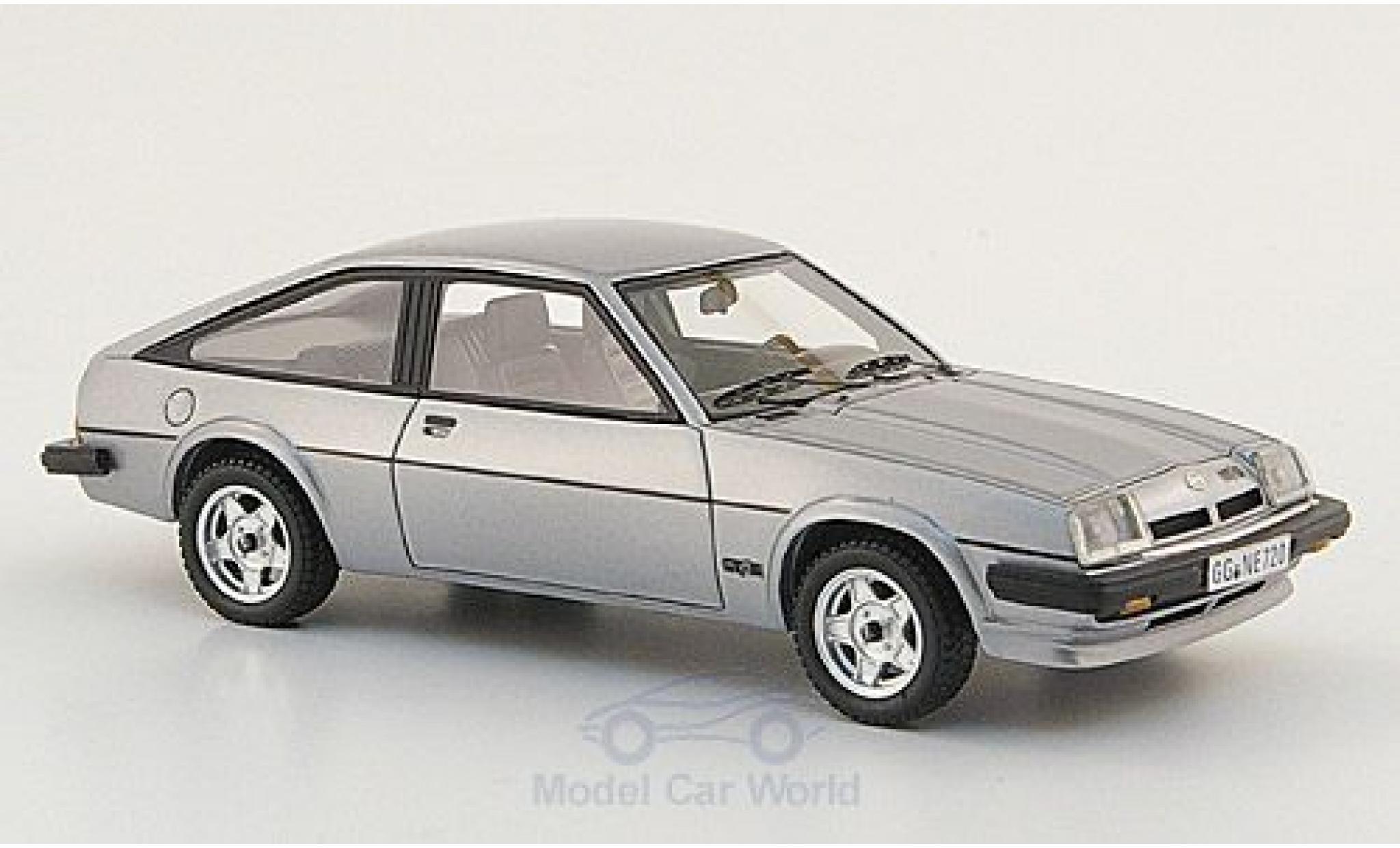 Opel Manta B 1/43 Neo CC GT/E grise 1980
