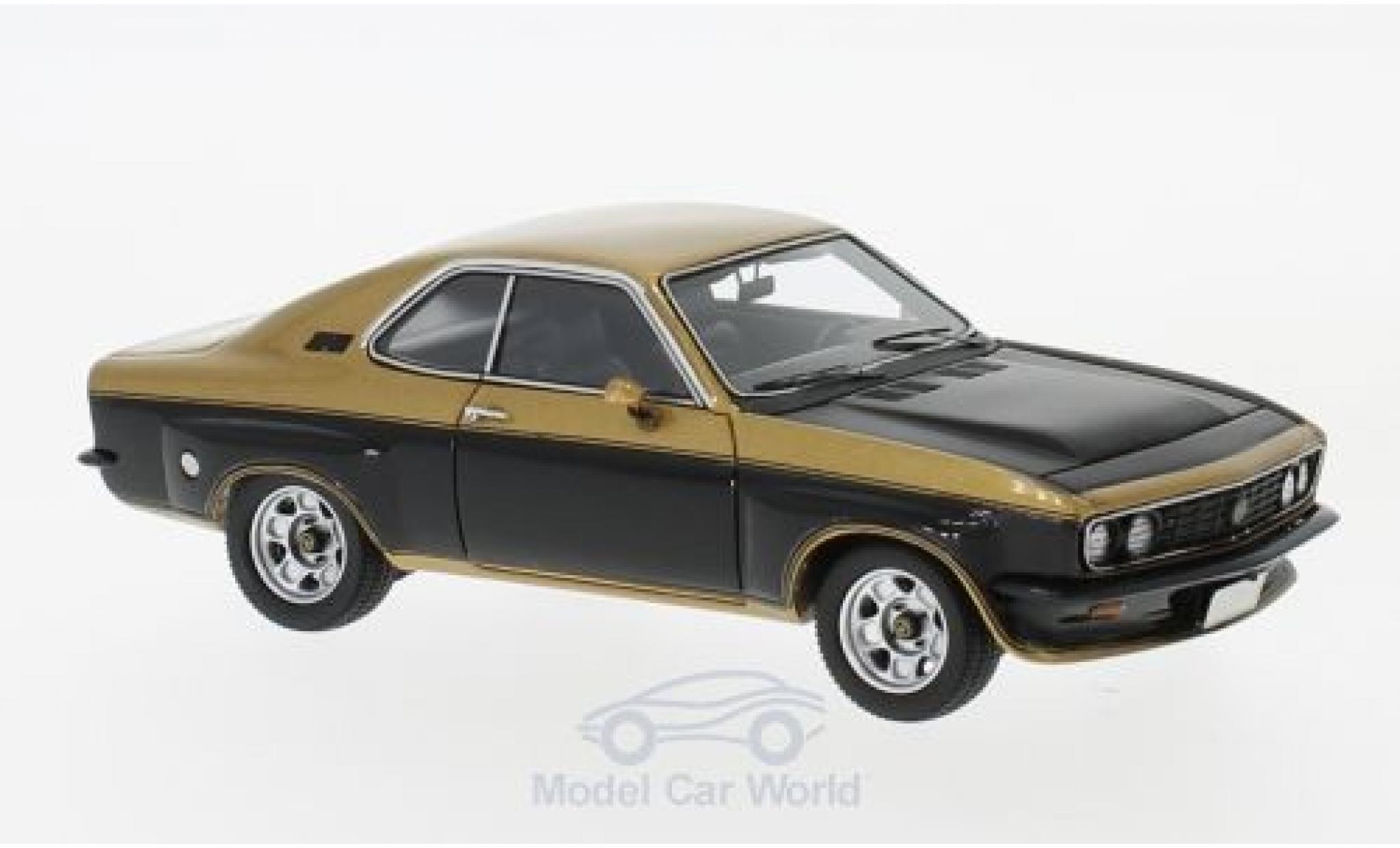 Opel Manta A 1/43 Neo TE 2800 gold/noire 1974