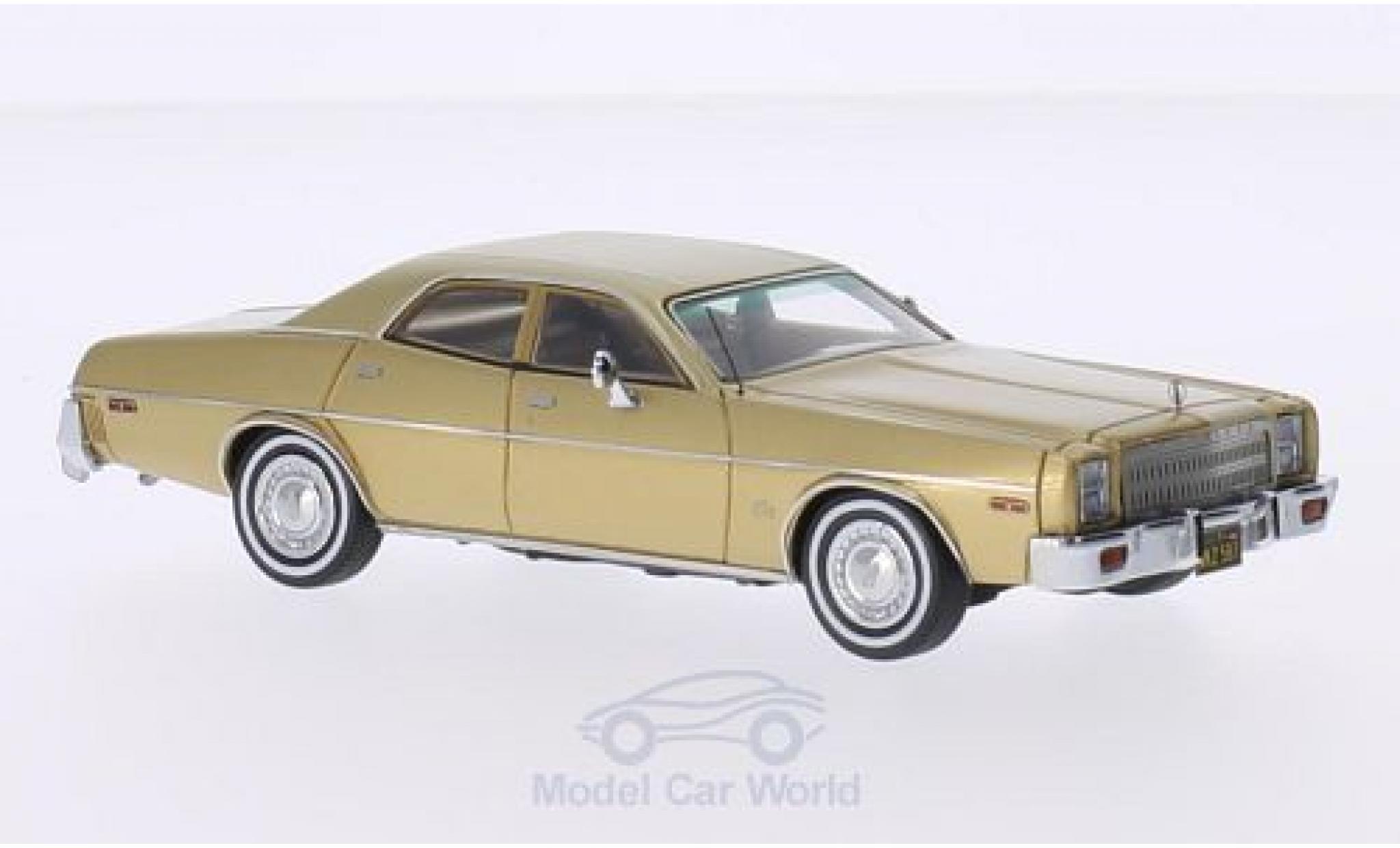 Plymouth Fury 1/43 Neo 4-Door Sedan gold 1977