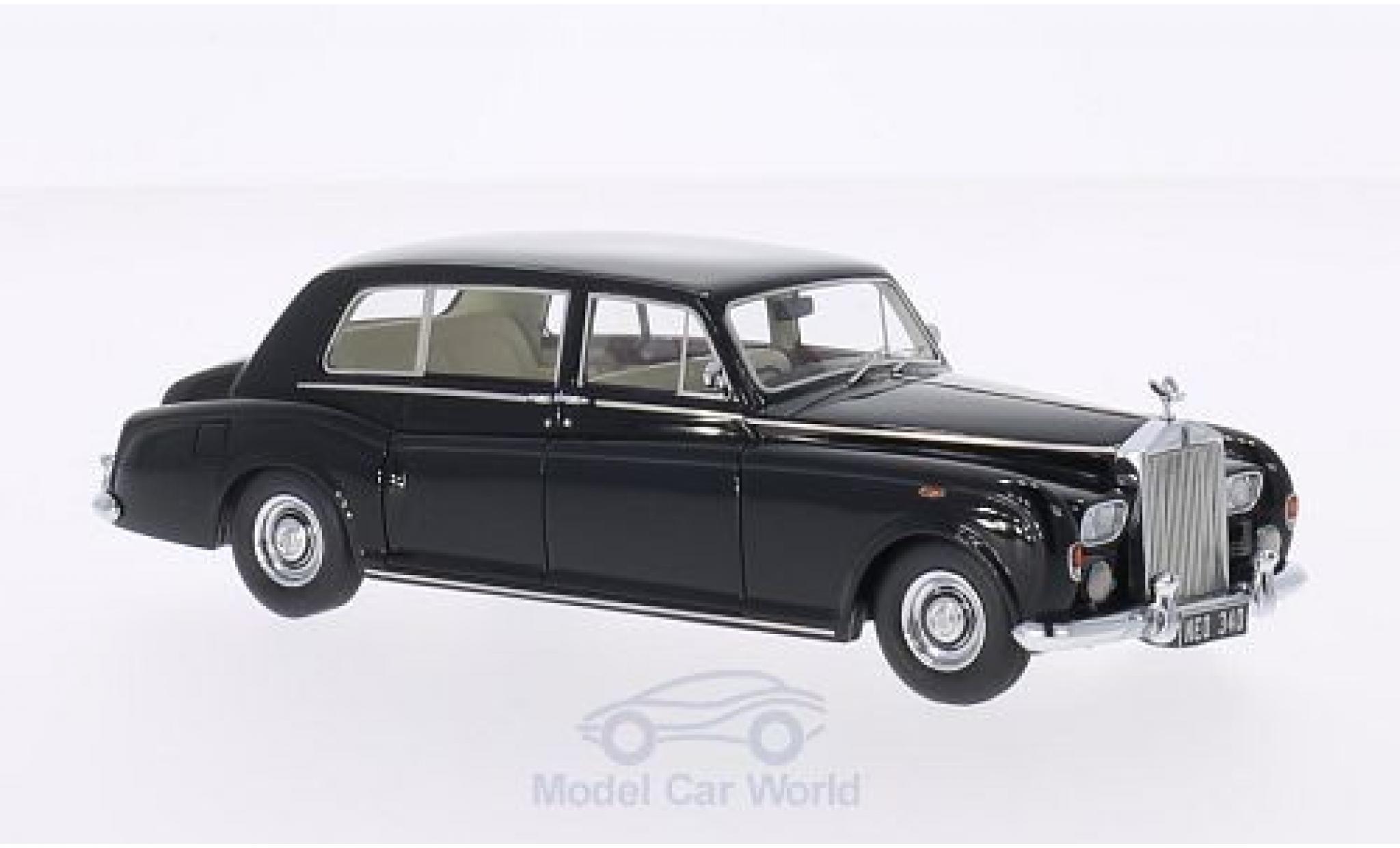 Rolls Royce Phantom 1/43 Neo VI EWB noire RHD 1968