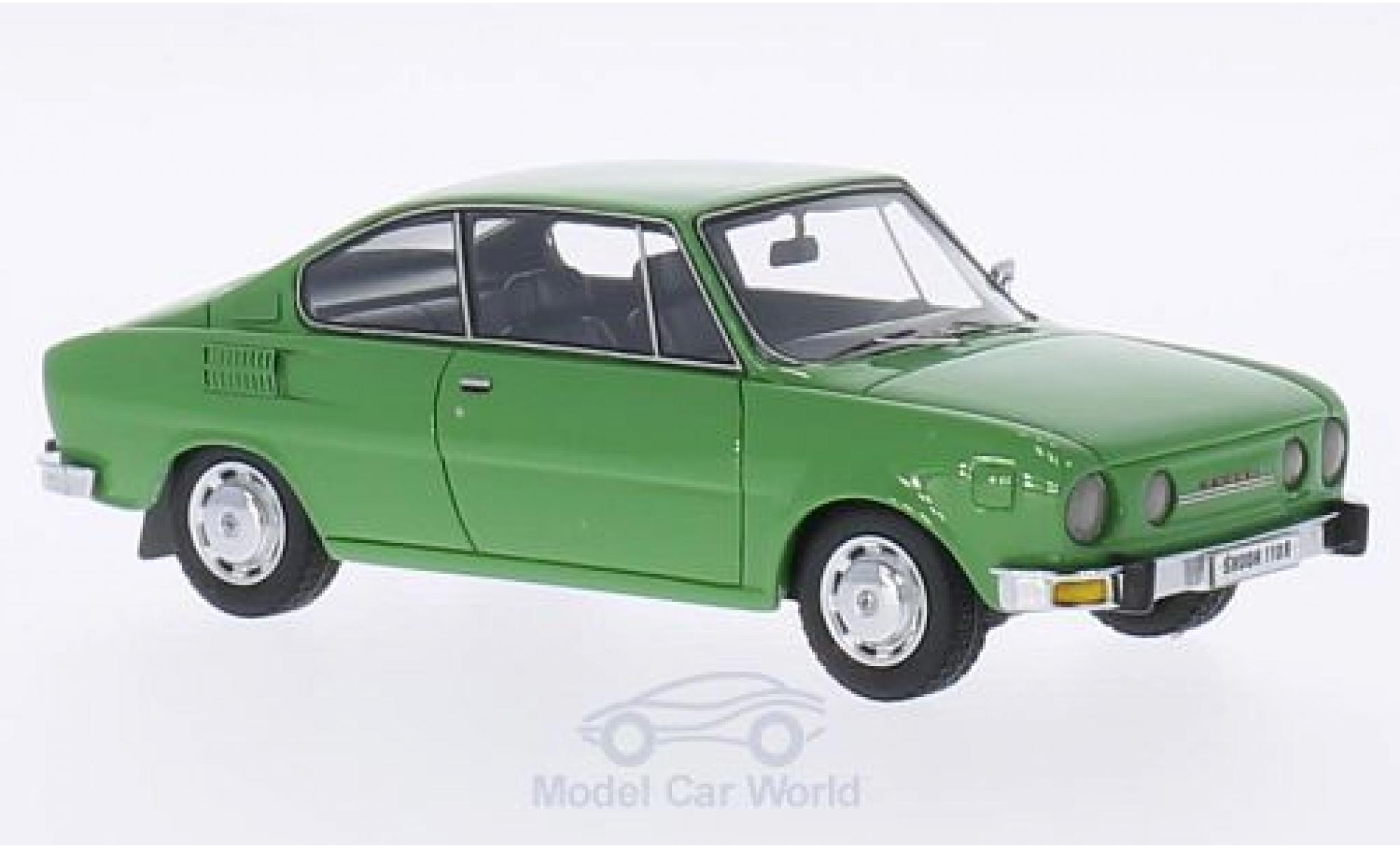 Skoda 110 1/43 Neo R verte 1972
