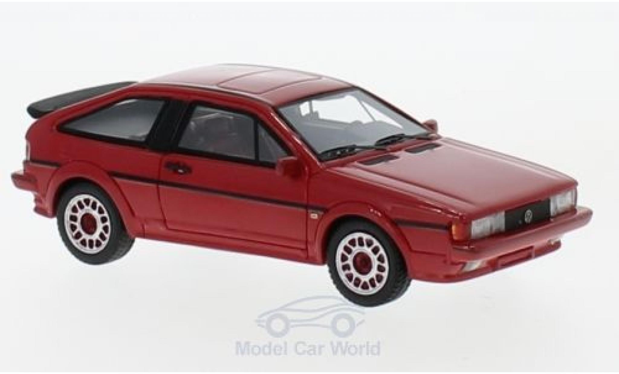 Volkswagen Scirocco 1/43 Neo II Scala rouge 1986