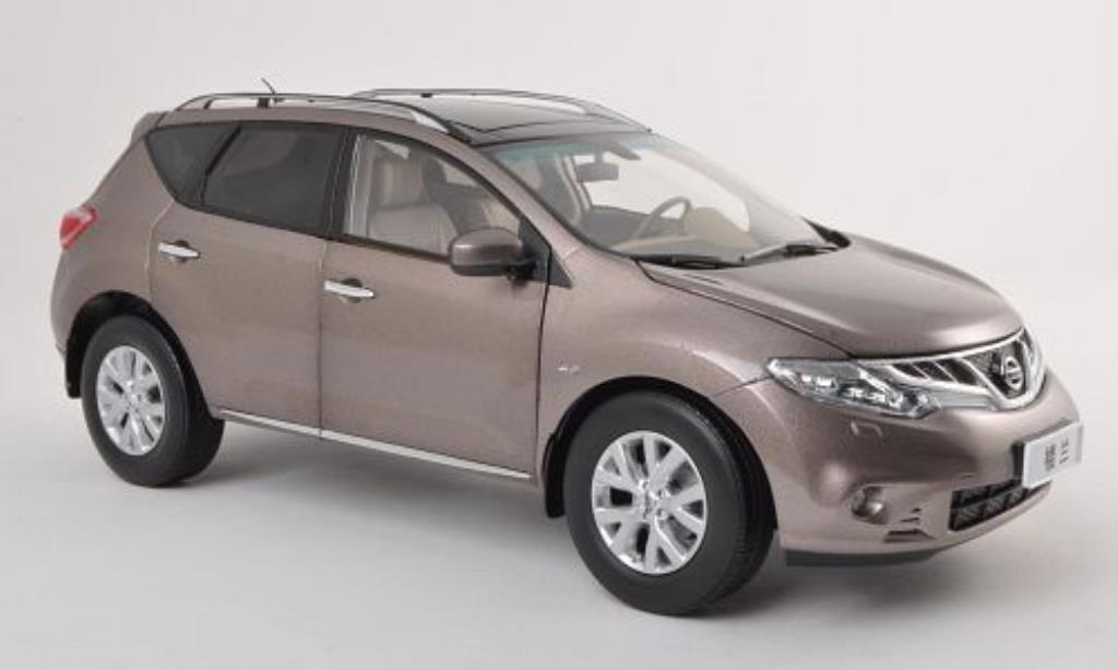 Nissan Murano 1/18 Paudi marron 2011 miniature