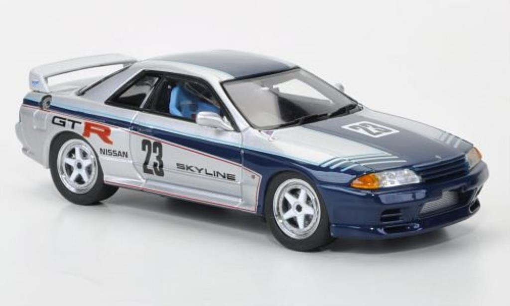 Nissan Skyline 1/43 Ebbro GT R Gr.A test car No.23 miniature
