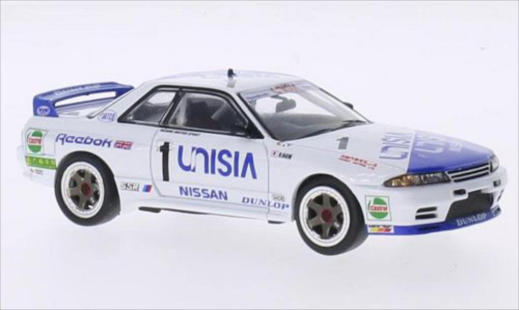 Nissan Skyline 1/43 IXO GT-R R32 RHD No.1 Unisia Macau Guia Race 1991 diecast model cars