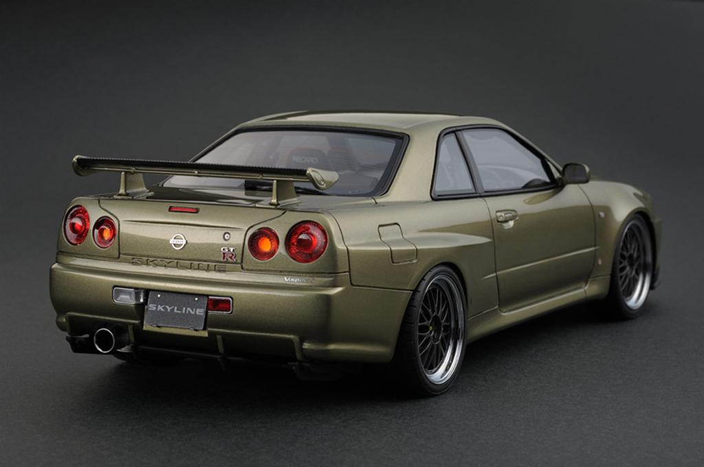 Nissan Skyline R34 Gtr V Spec Ii Millennium Jade Ig0163