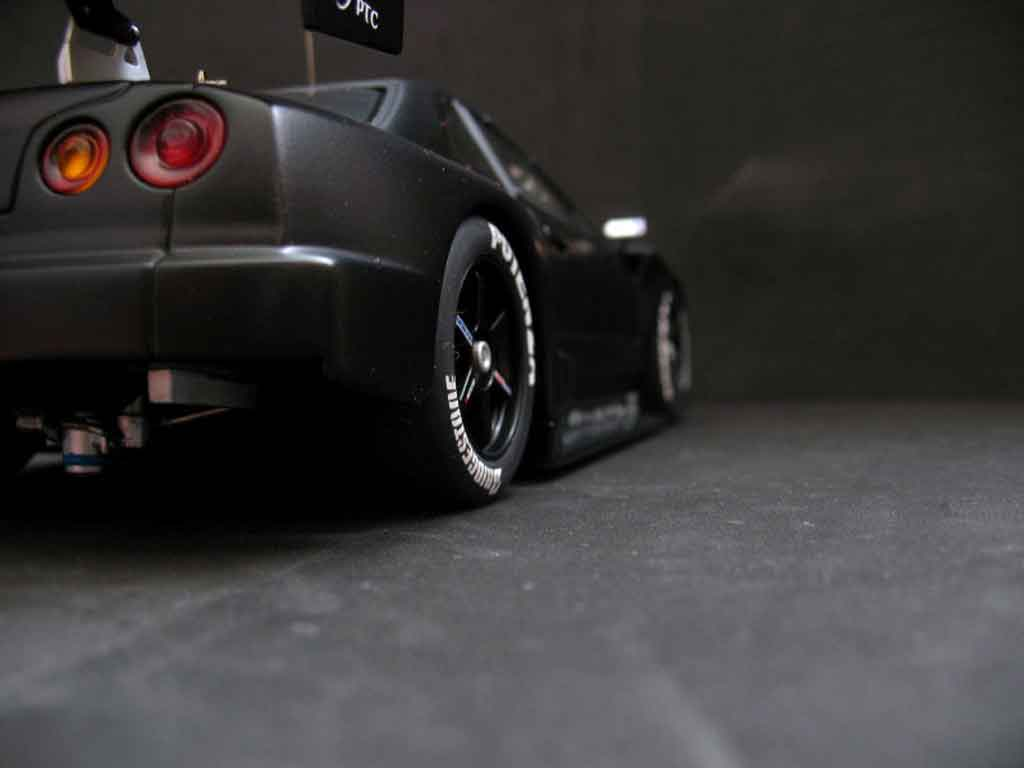 Auto miniature Nissan Skyline R34 JGTC test car tuning Autoart. Nissan Skyline R34 JGTC test car JGTC miniature 1/18