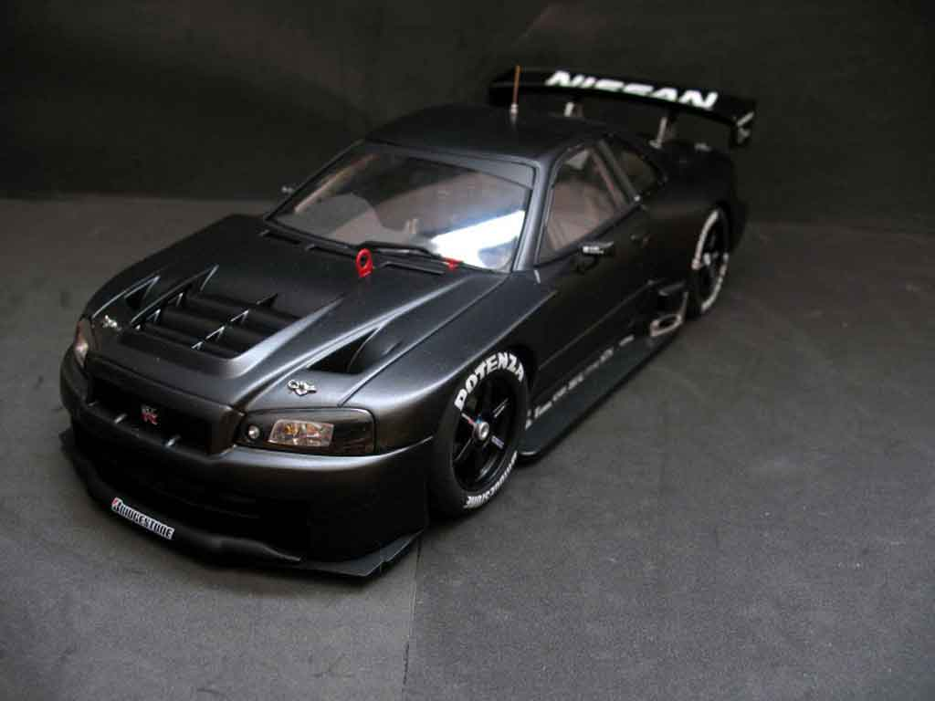Nissan Skyline R34 1/18 Autoart JGTC test car