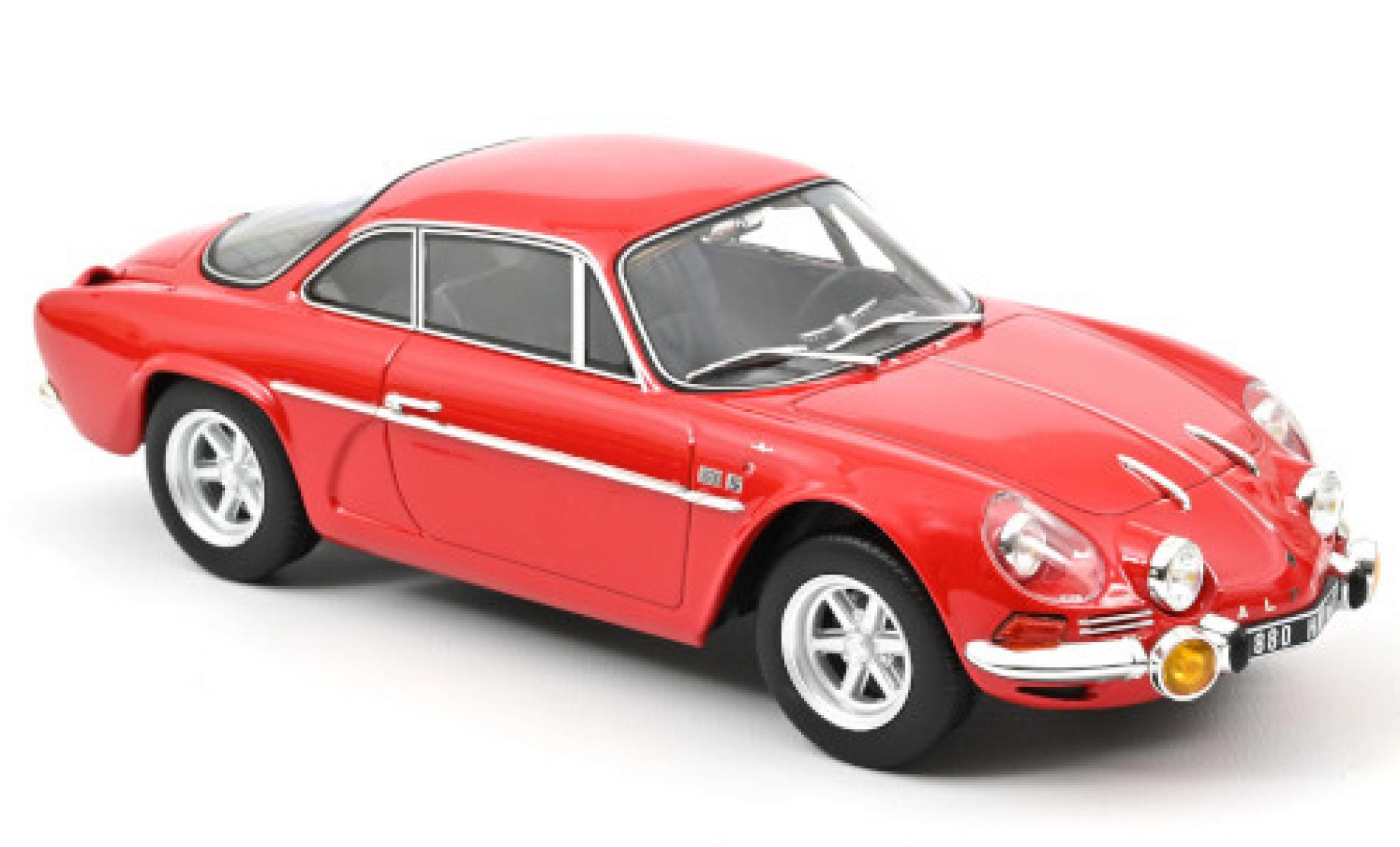 Alpine A110 1/18 Norev 1600S red 1969