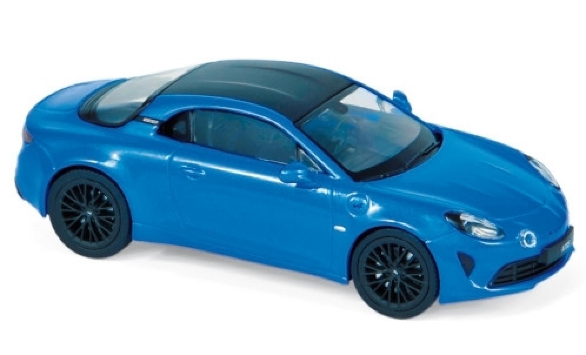 Alpine A110 1/43 Norev S metallise blue/carbon 2019