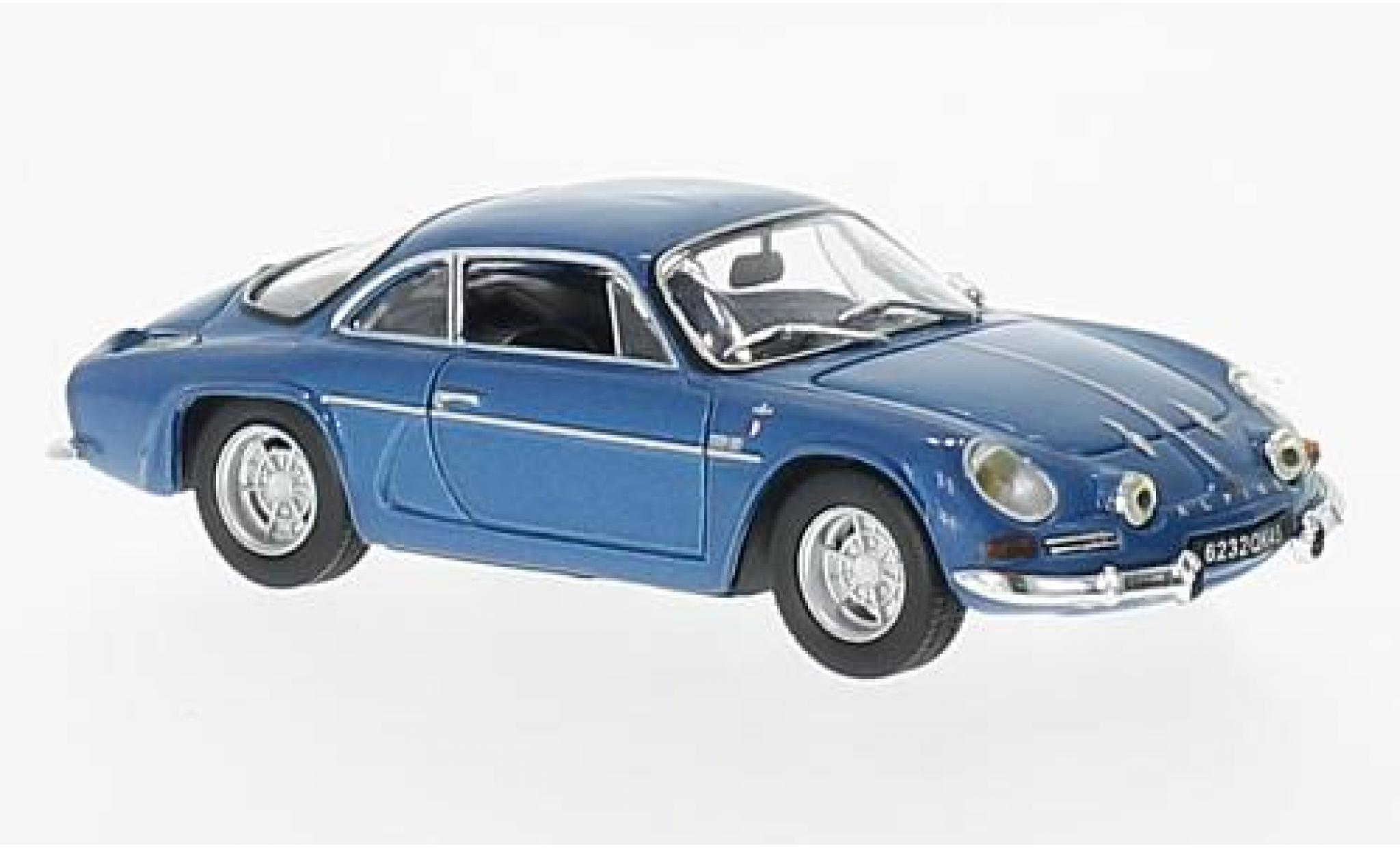 Alpine A110 1/43 Norev Renault A 110 metallise bleue 1973