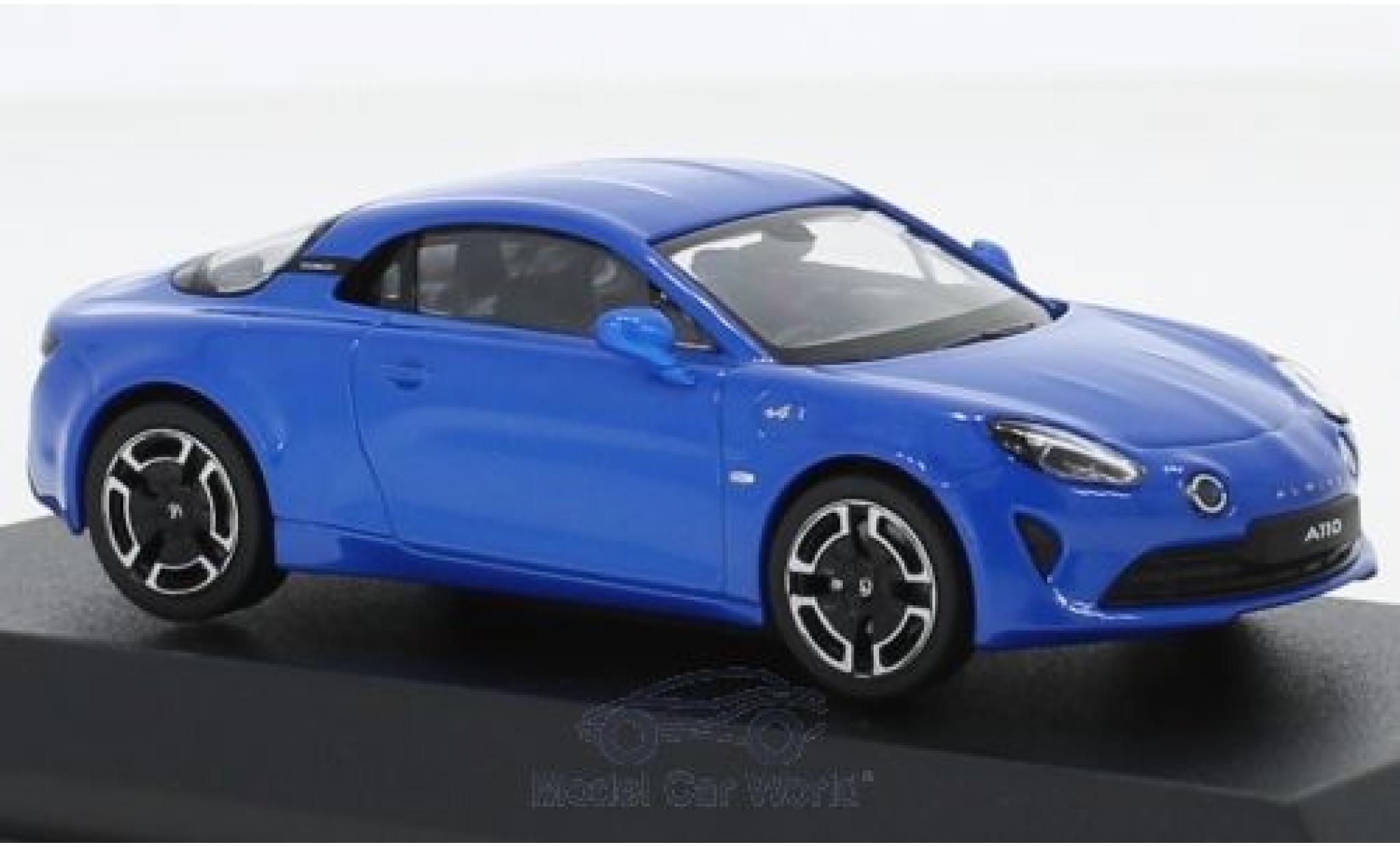 Alpine A110 1/43 Norev Renault Legende bleue 2018
