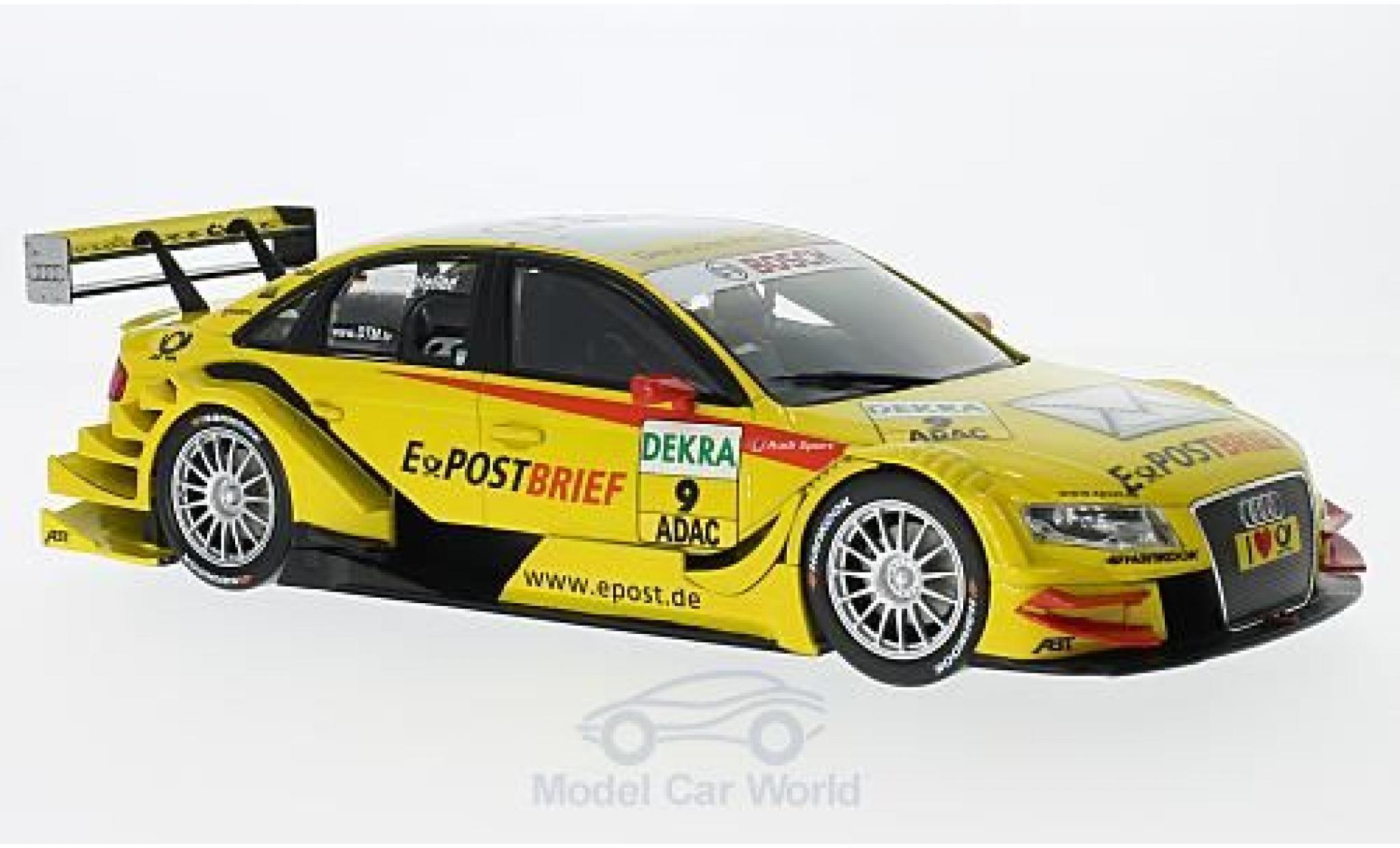Audi A4 DTM 1/18 Norev DTM No.9 EPost Brief DTM 2011 M.Rockenfeller