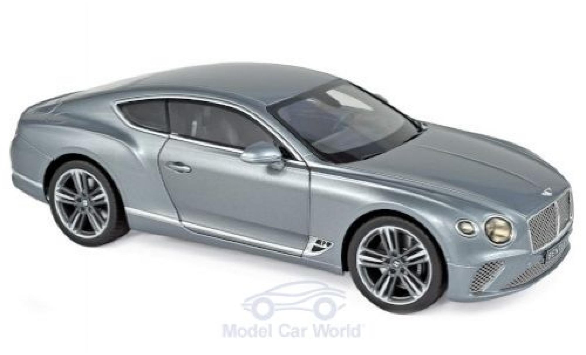 Bentley Continental 1/18 Norev GT metallic grey 2018