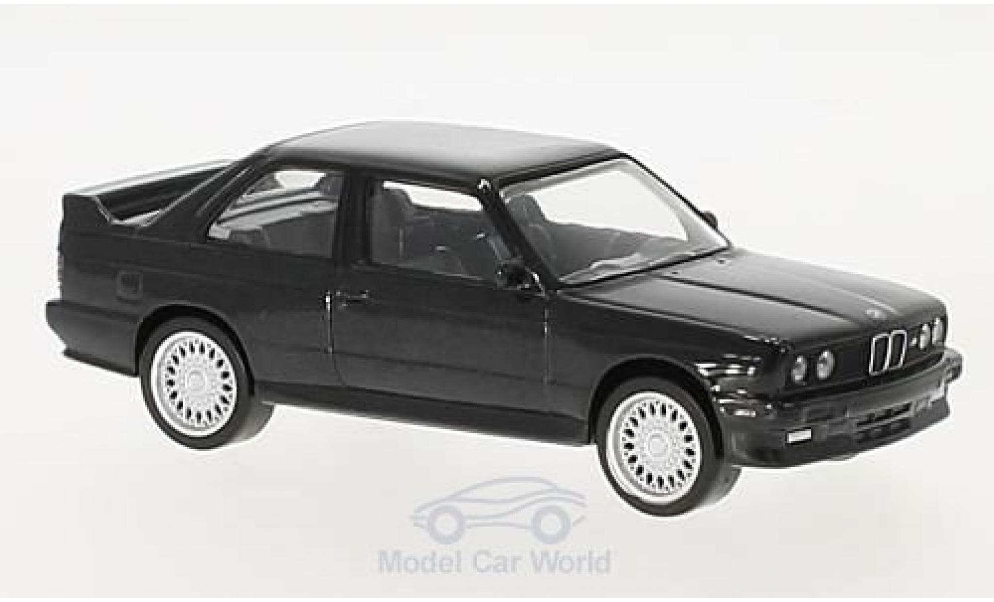 Bmw M3 E30 1/43 Norev  black 1986