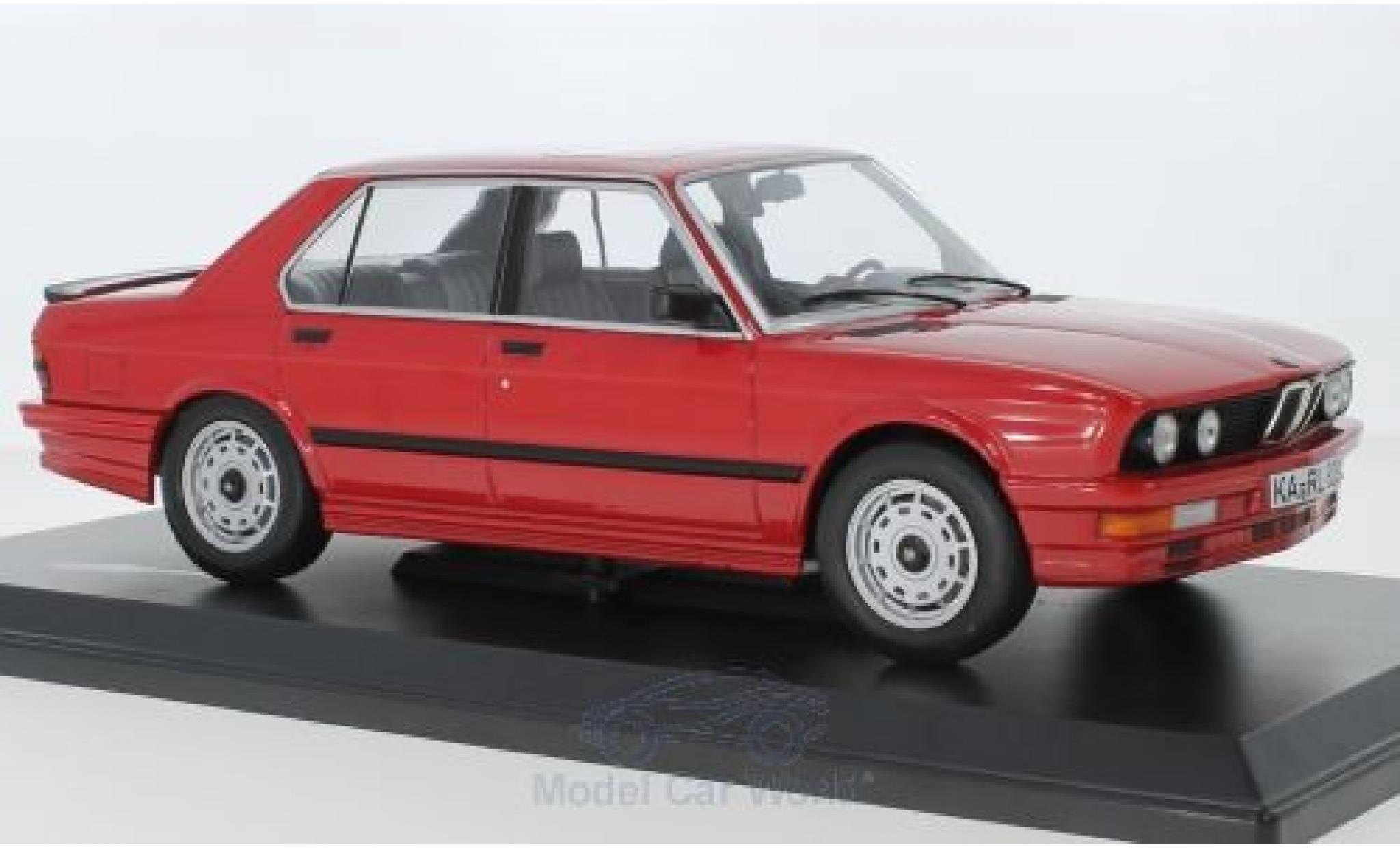 Bmw M5 1/18 Norev 35i (E28) rouge 1986
