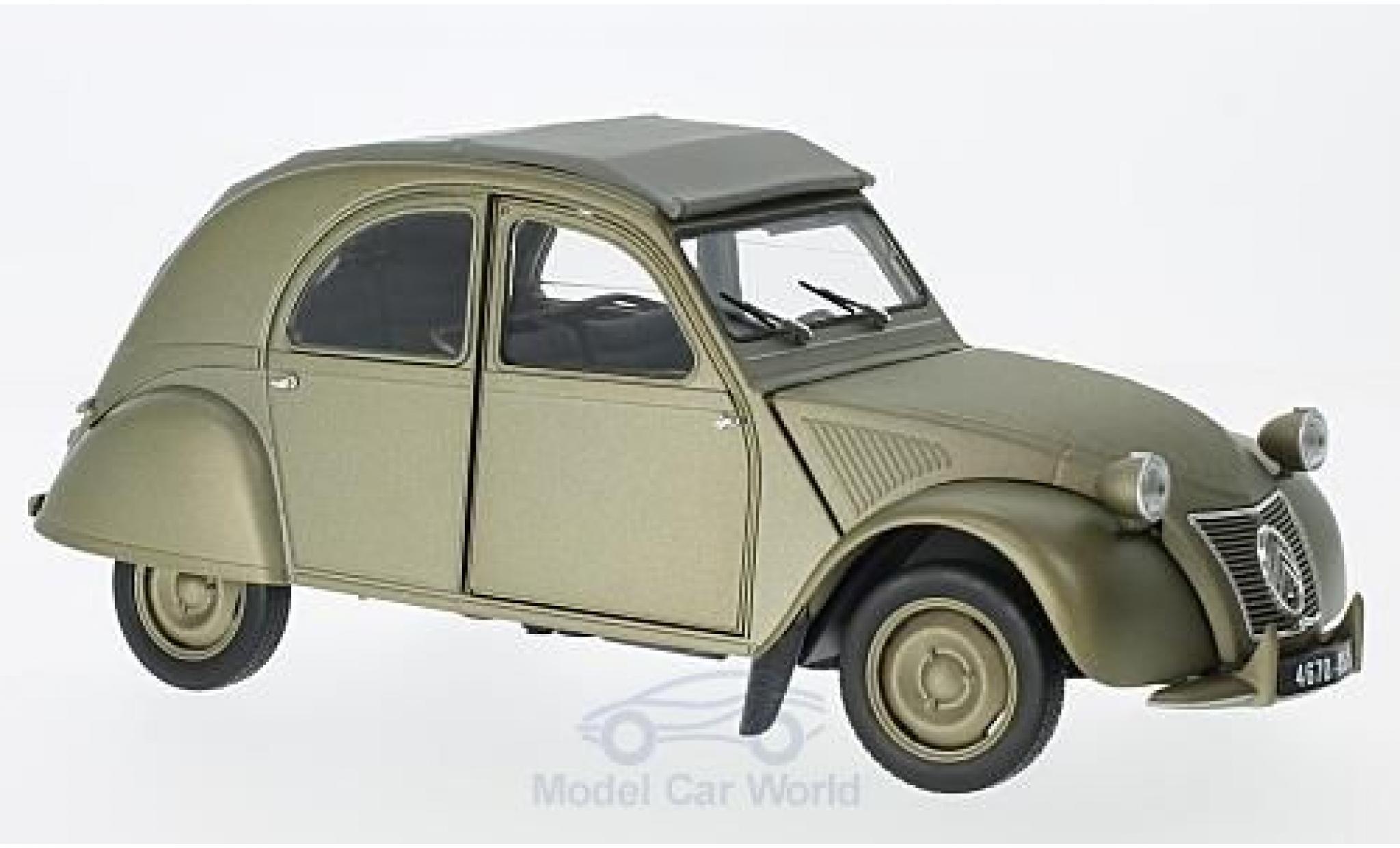 Citroen 2CV 1/18 Norev A matt-grise 1950