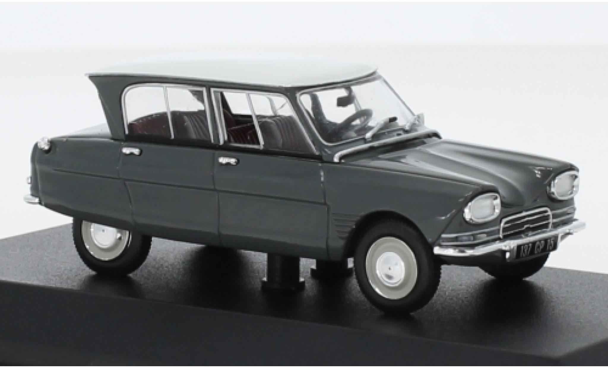 Citroen Ami 6 1/43 Norev grey/white 1967