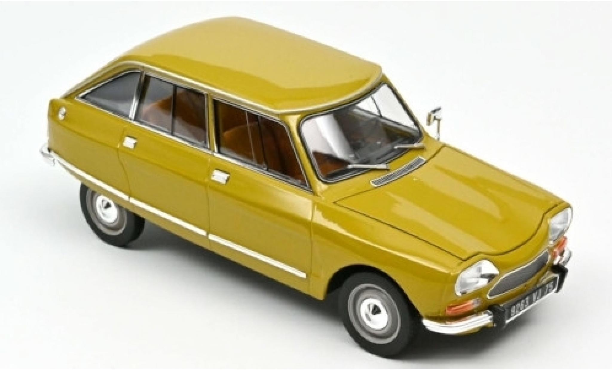 Citroen Ami 8 1/18 Norev Club yellow 1969