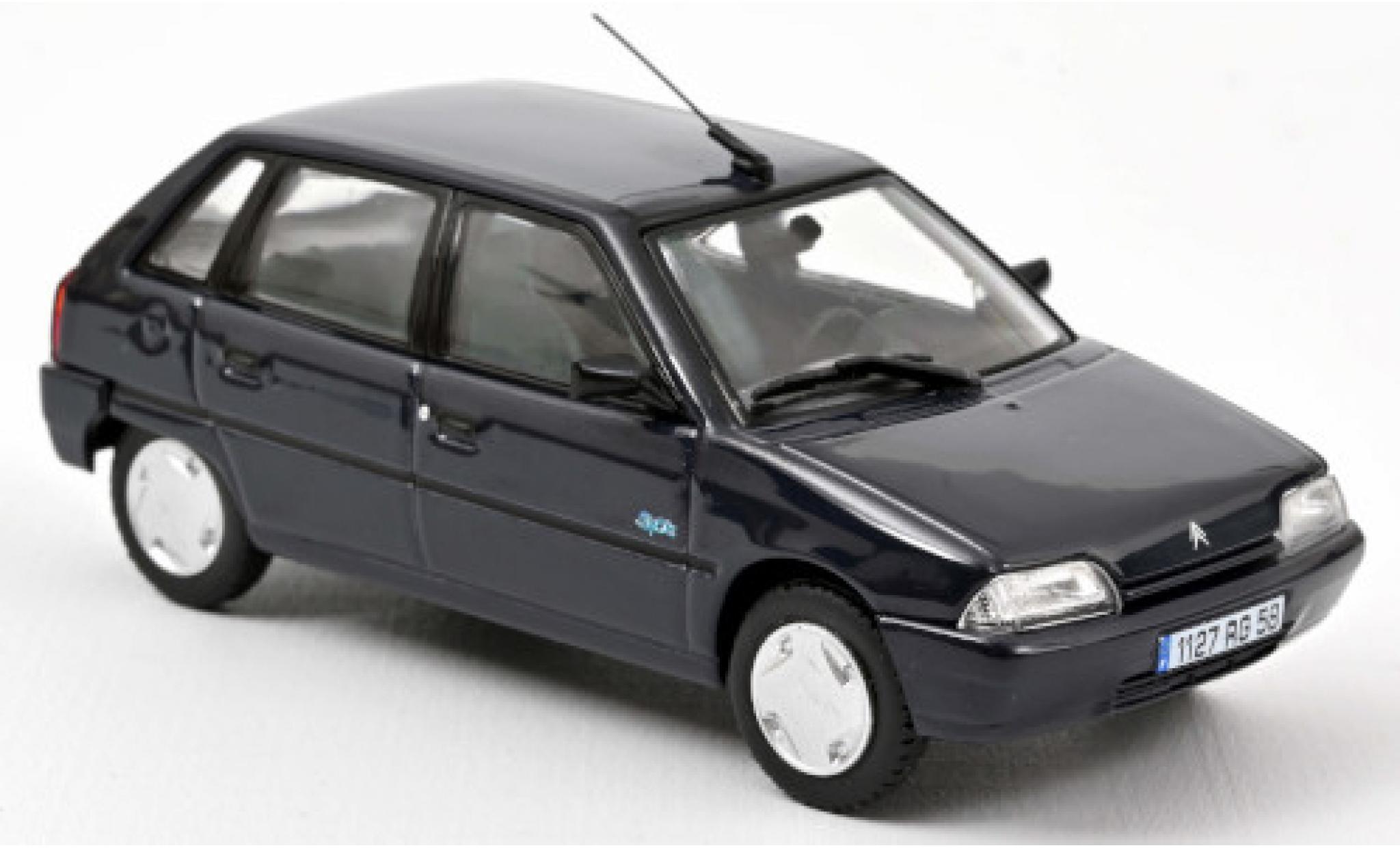 Citroen AX 1/43 Norev Spot blue 1995