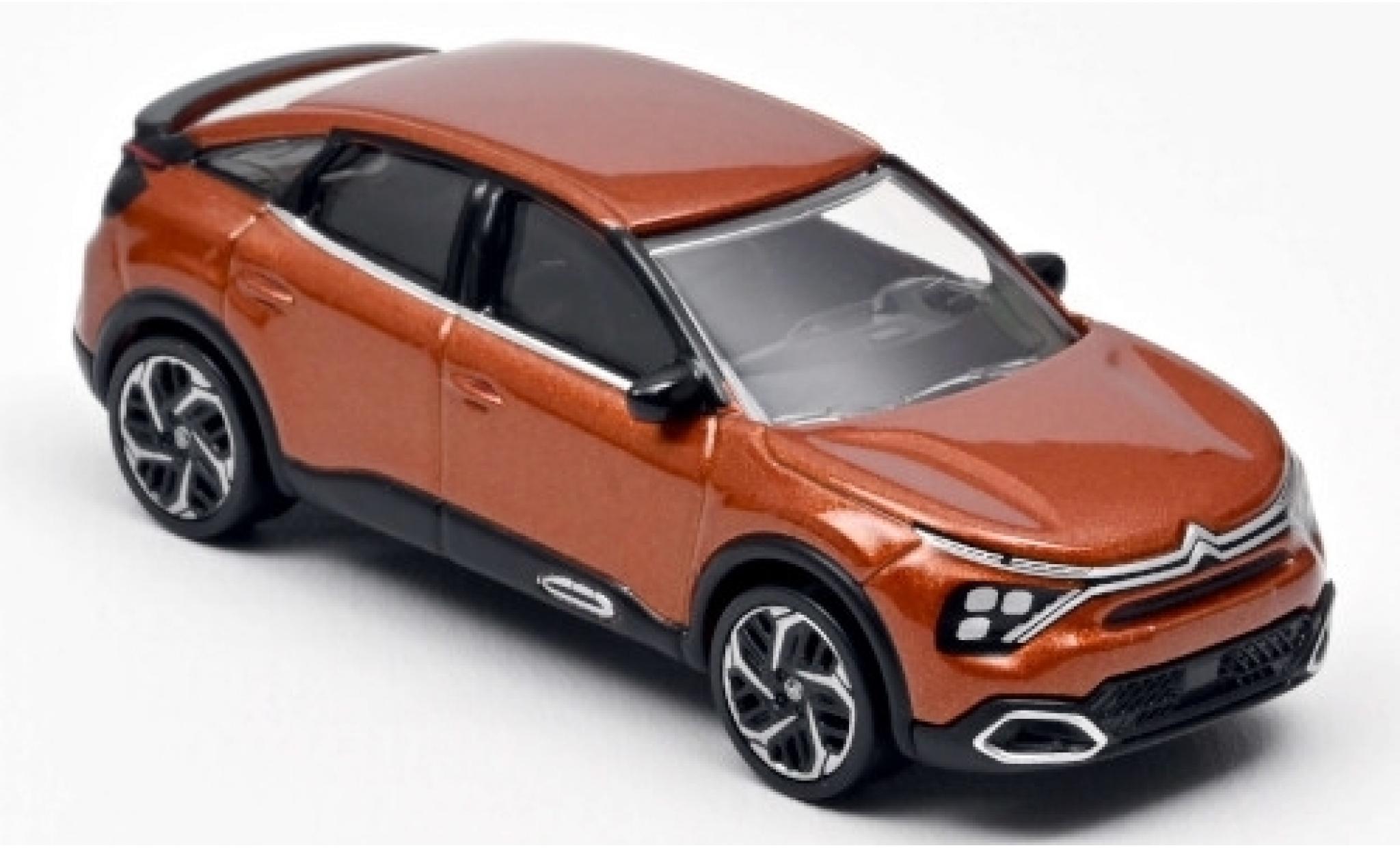 Citroen C4 1/43 Norev metallise orange 2020