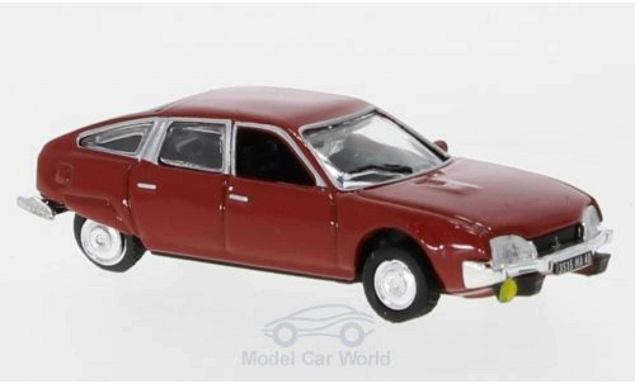 Citroen CX 1/87 Norev 2000 rouge 1975