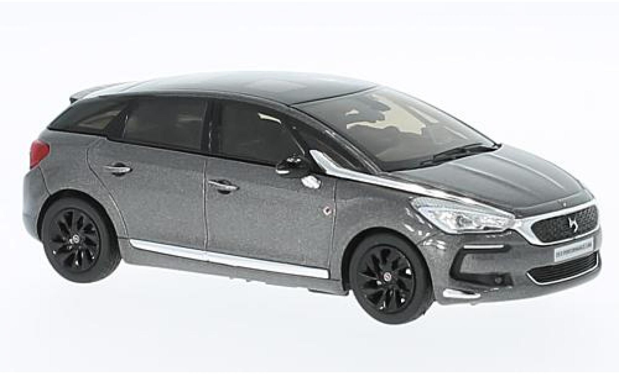 DS Automobiles DS5 1/43 Norev Citroen DS 5 Performance Line metallise grise/noire 2016