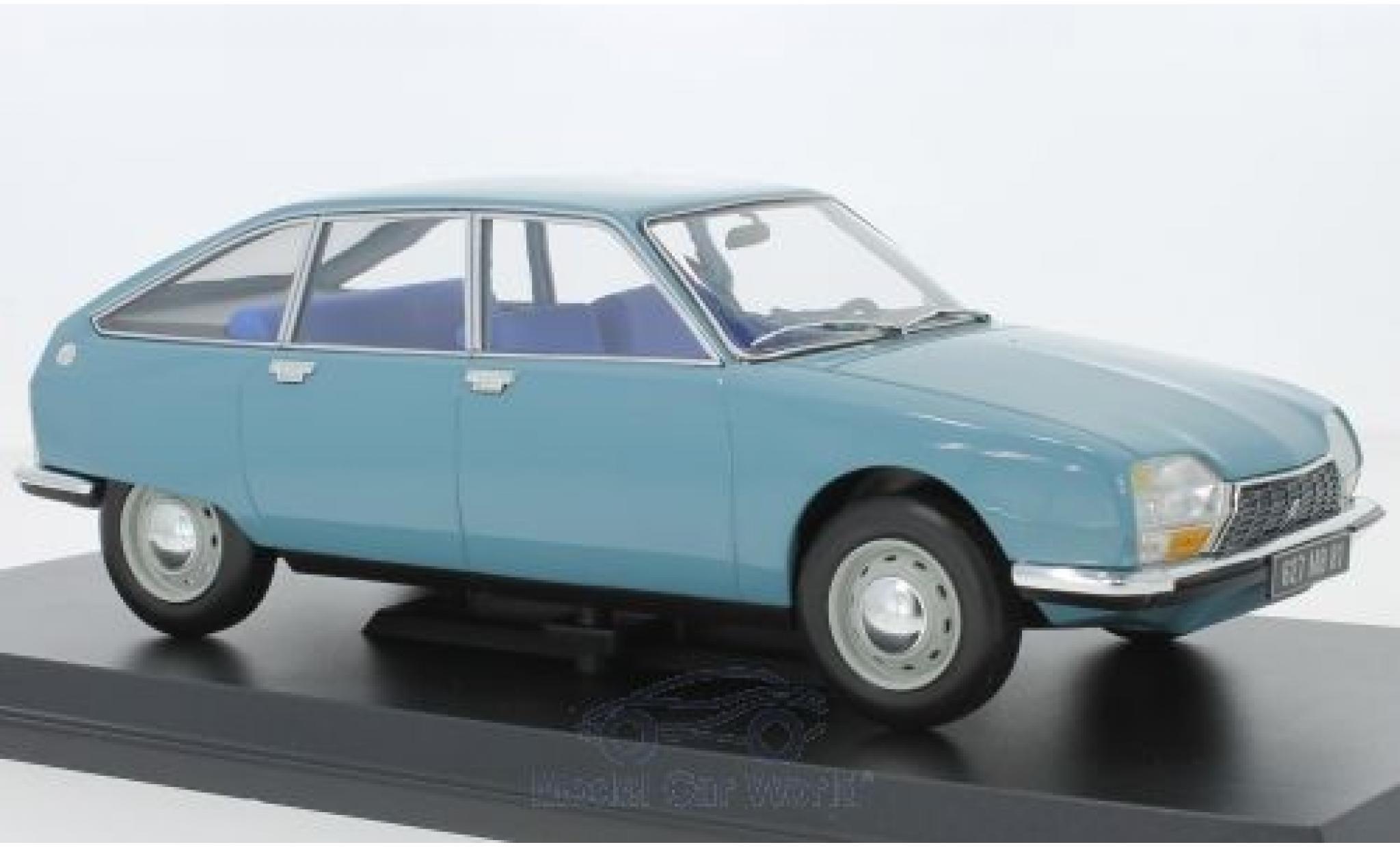 Citroen GS 1/18 Norev Club bleue 1972