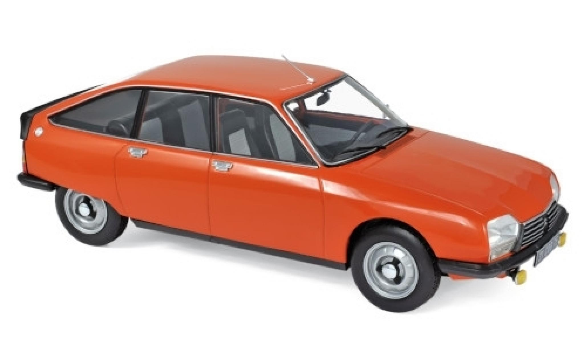 Citroen GS 1/18 Norev X2 orange 1978
