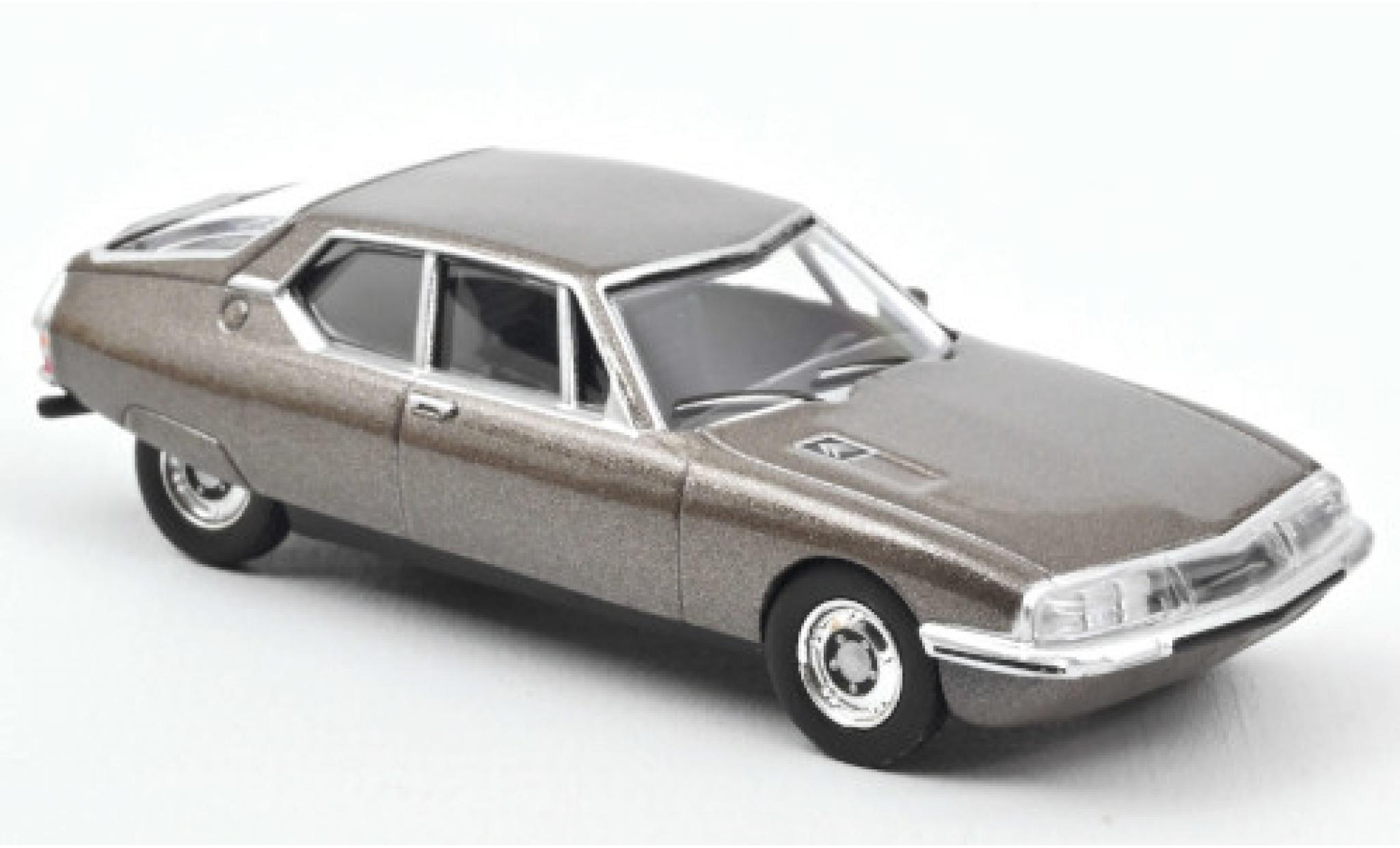 Citroen SM 1/64 Norev metallise marron 1972