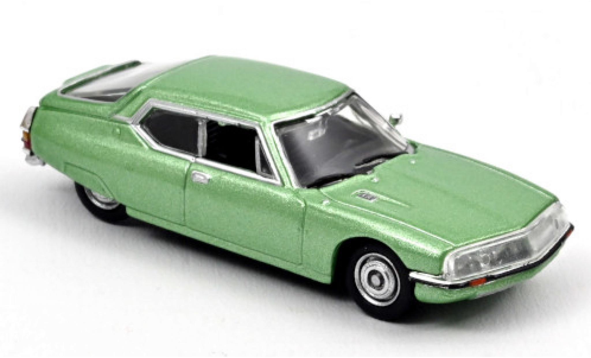 Citroen SM 1/87 Norev metallise verte 1972