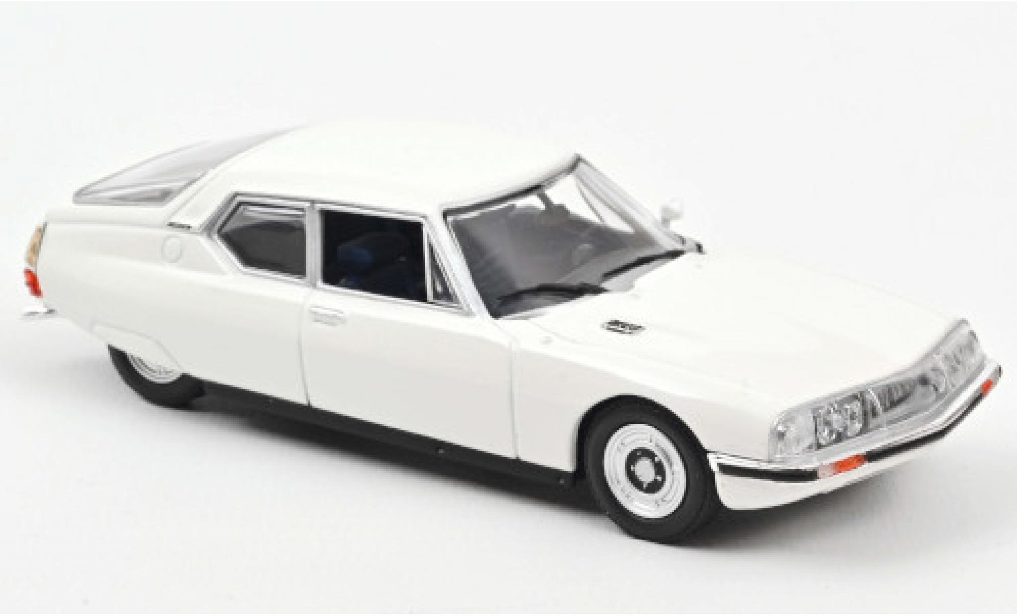 Citroen SM 1/43 Norev white 1970