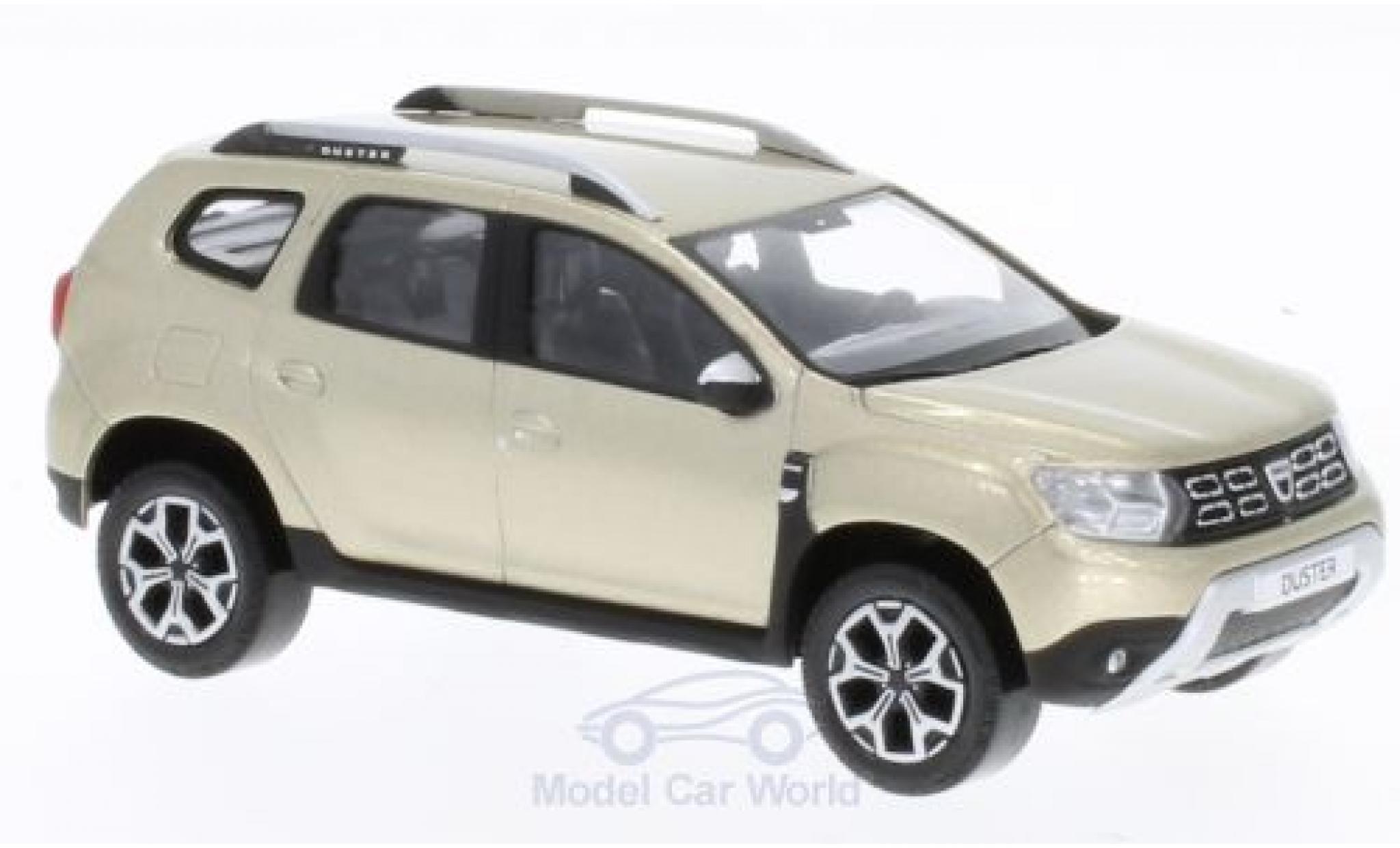 Dacia Duster 1/43 Norev metallise beige 2018