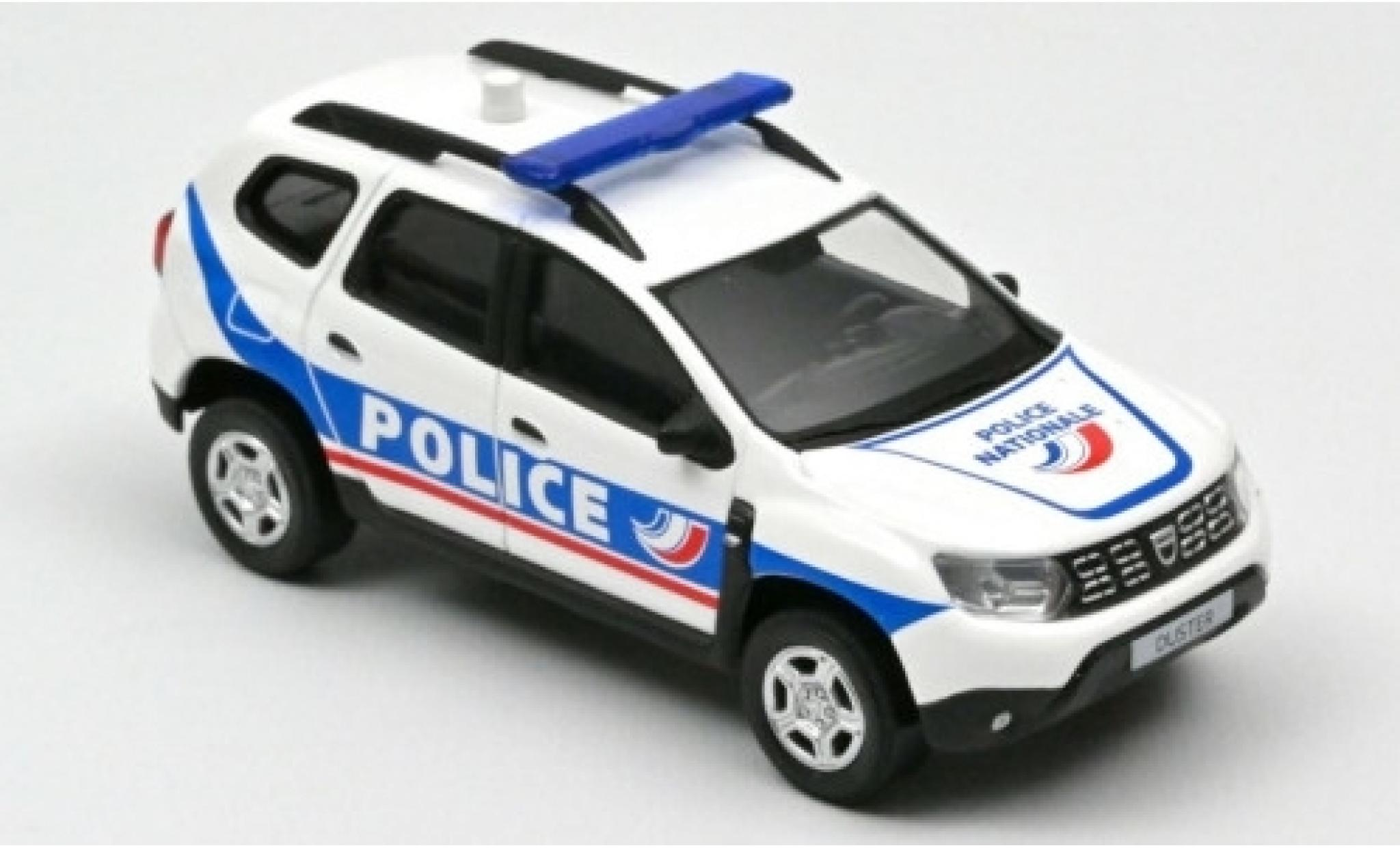 Dacia Duster 1/43 Norev Police Nationale (F) 2018
